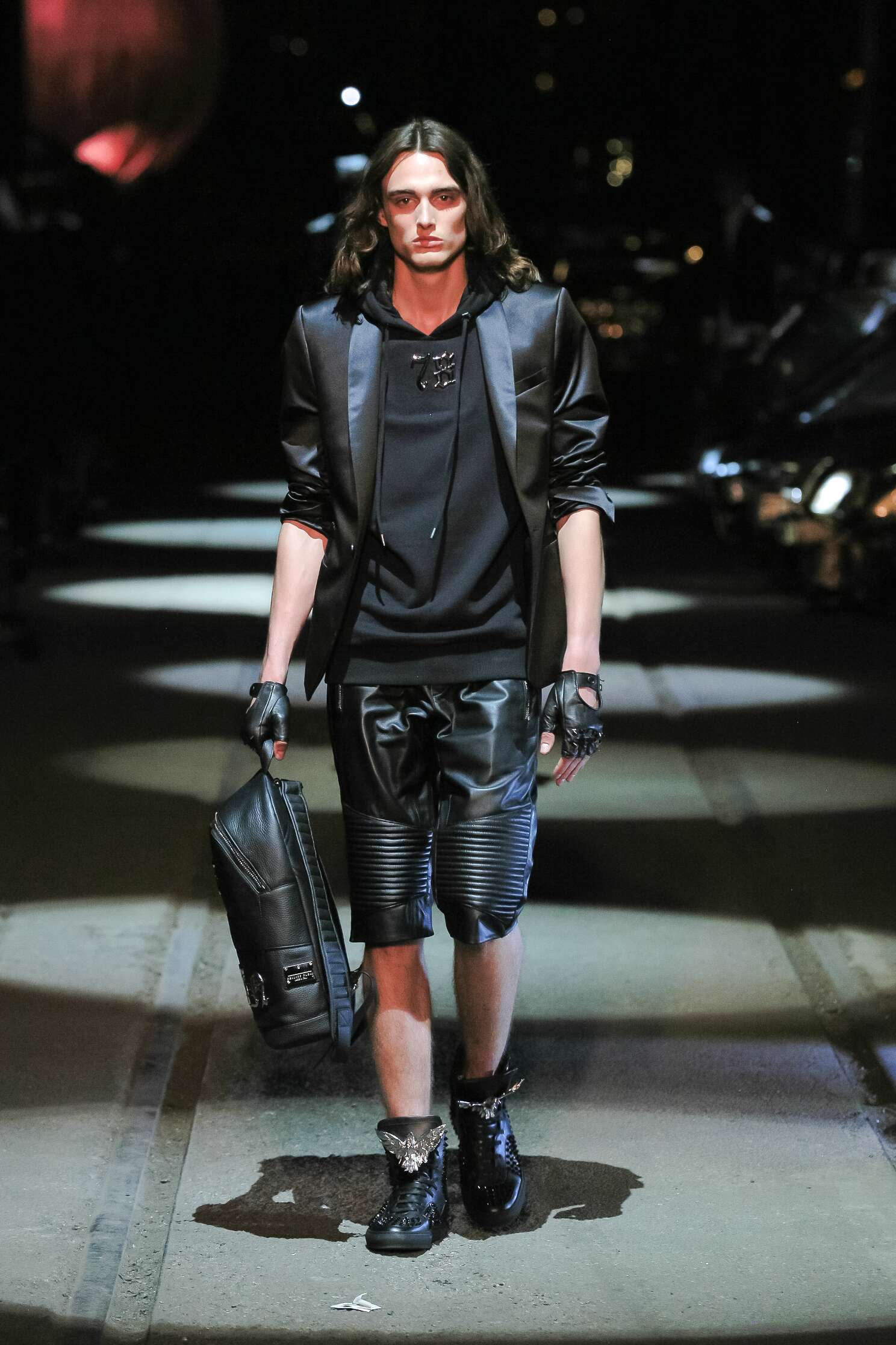 Fashion Menswear Philipp Plein Collection Catwalk