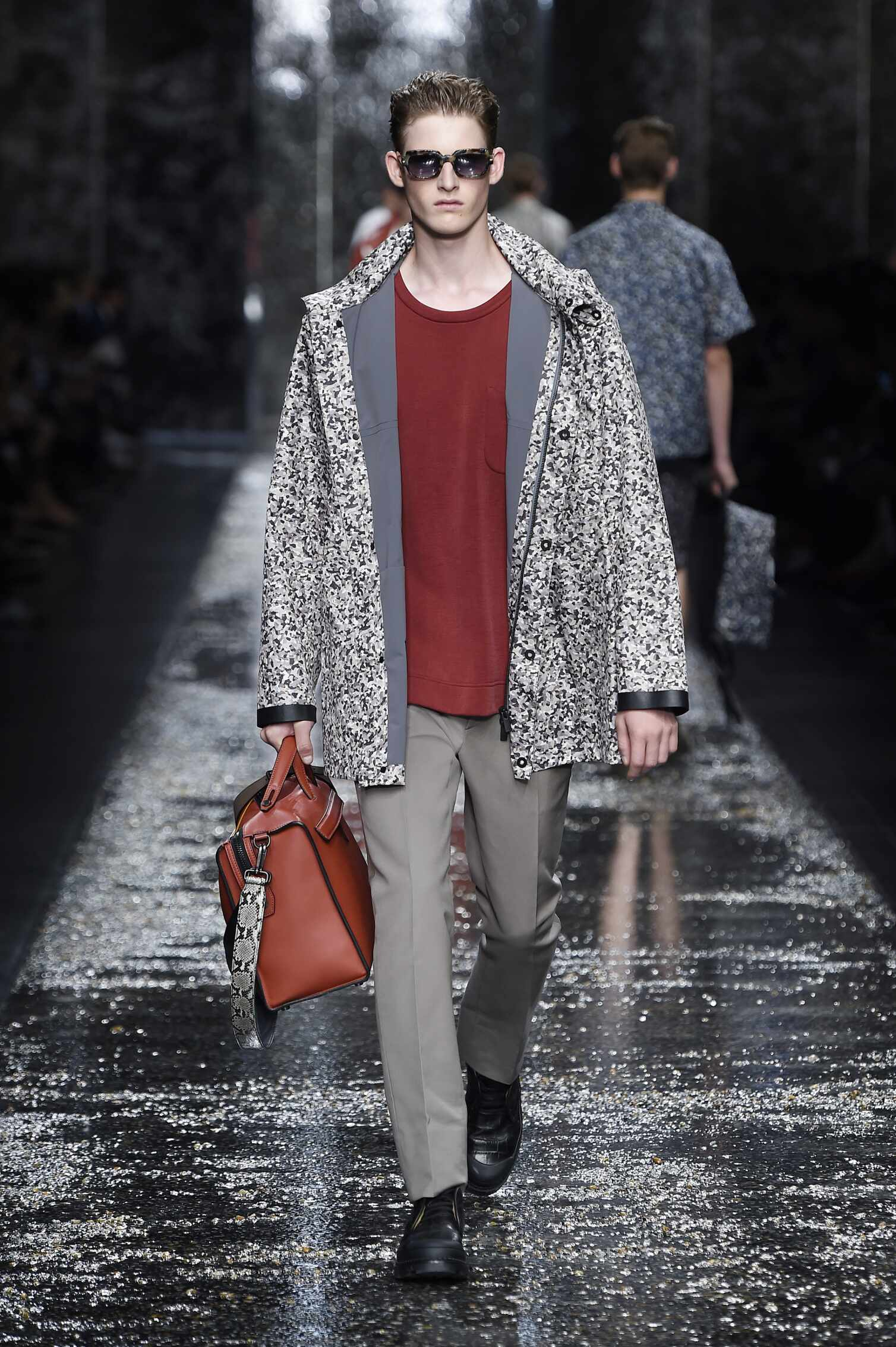 Fendi Collection Milan Fashion Week Menswear