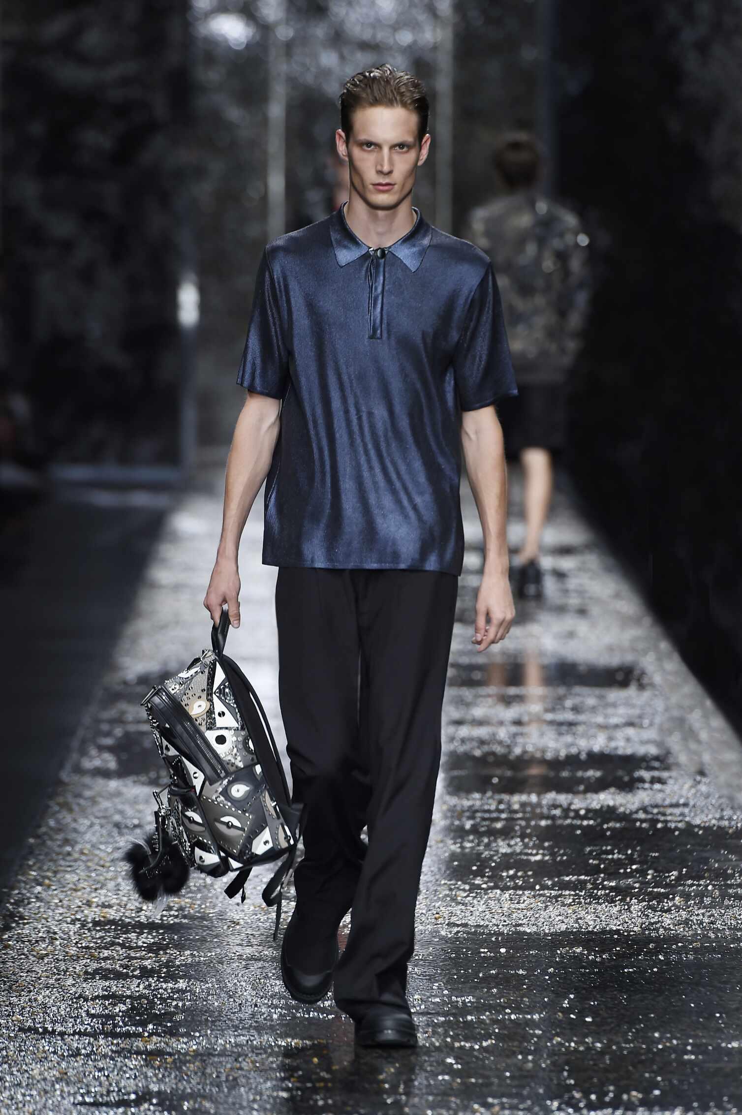 Fendi Spring Summer 2016 Men's Collection Milan Fashion Week