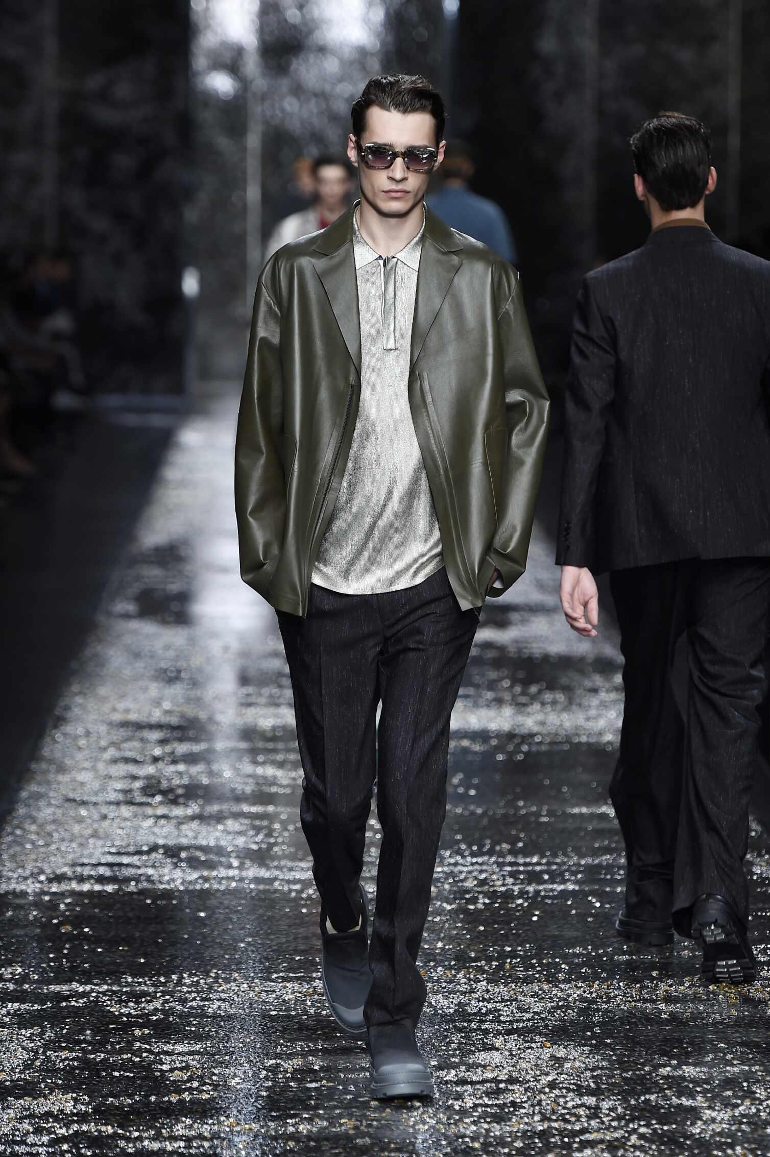 Fendi Spring Summer 2016 Menswear Collection Milan Fashion Week Fashion Show