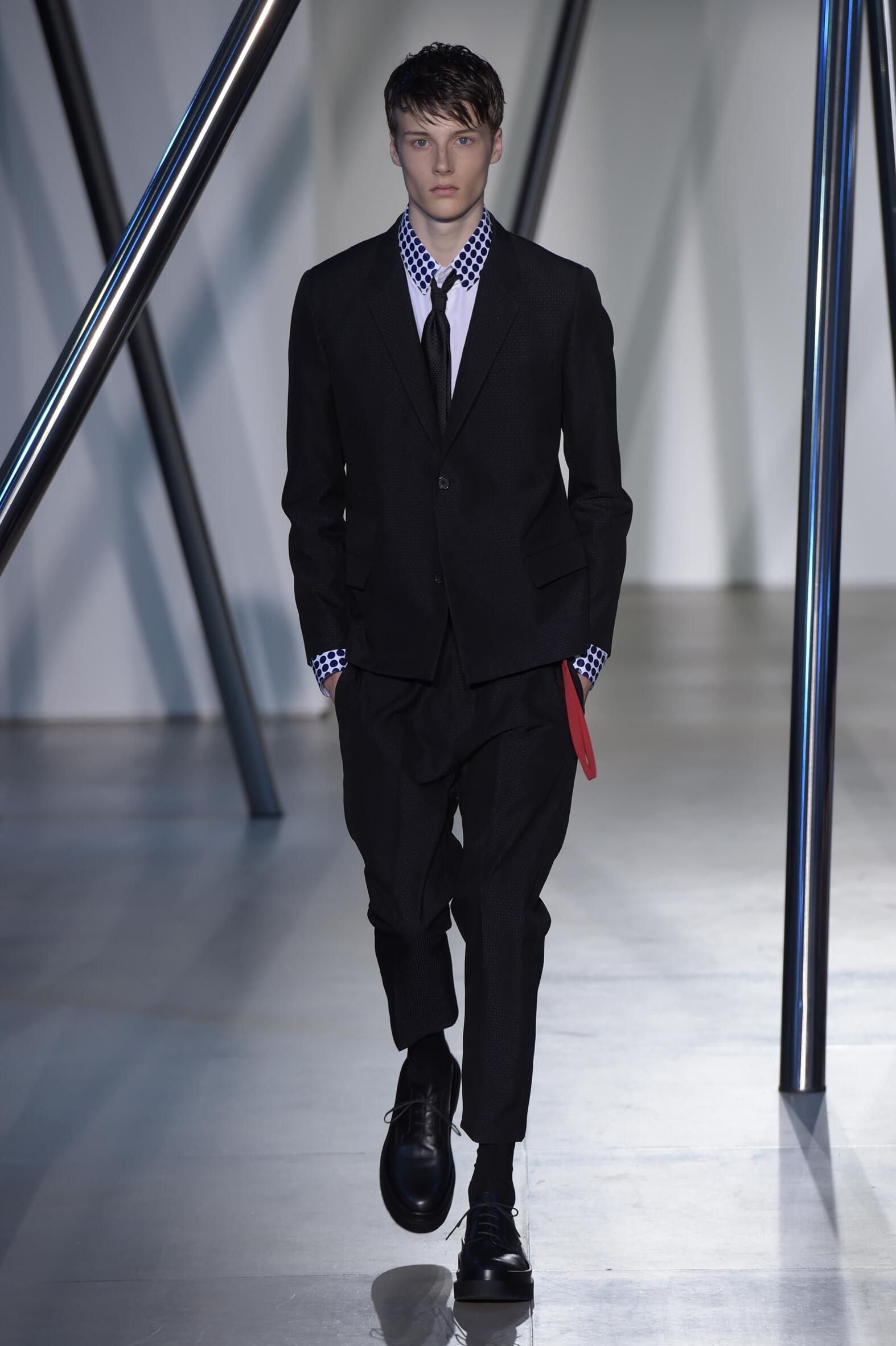 Jil Sander Collection Milan Fashion Week Menswear