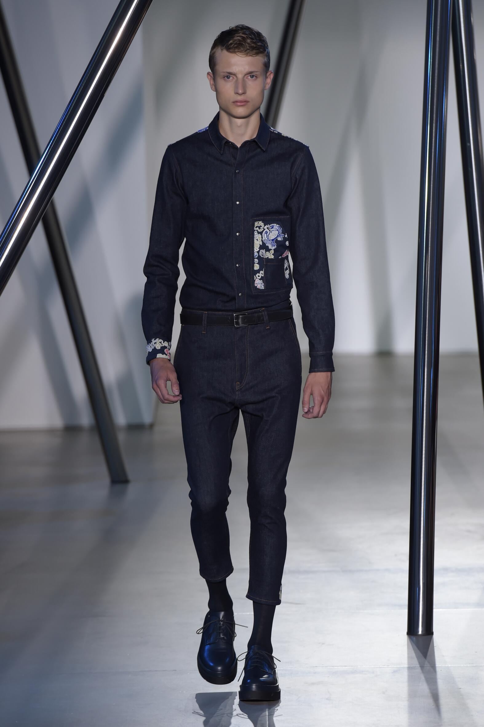 Jil Sander Men's Collection 2016