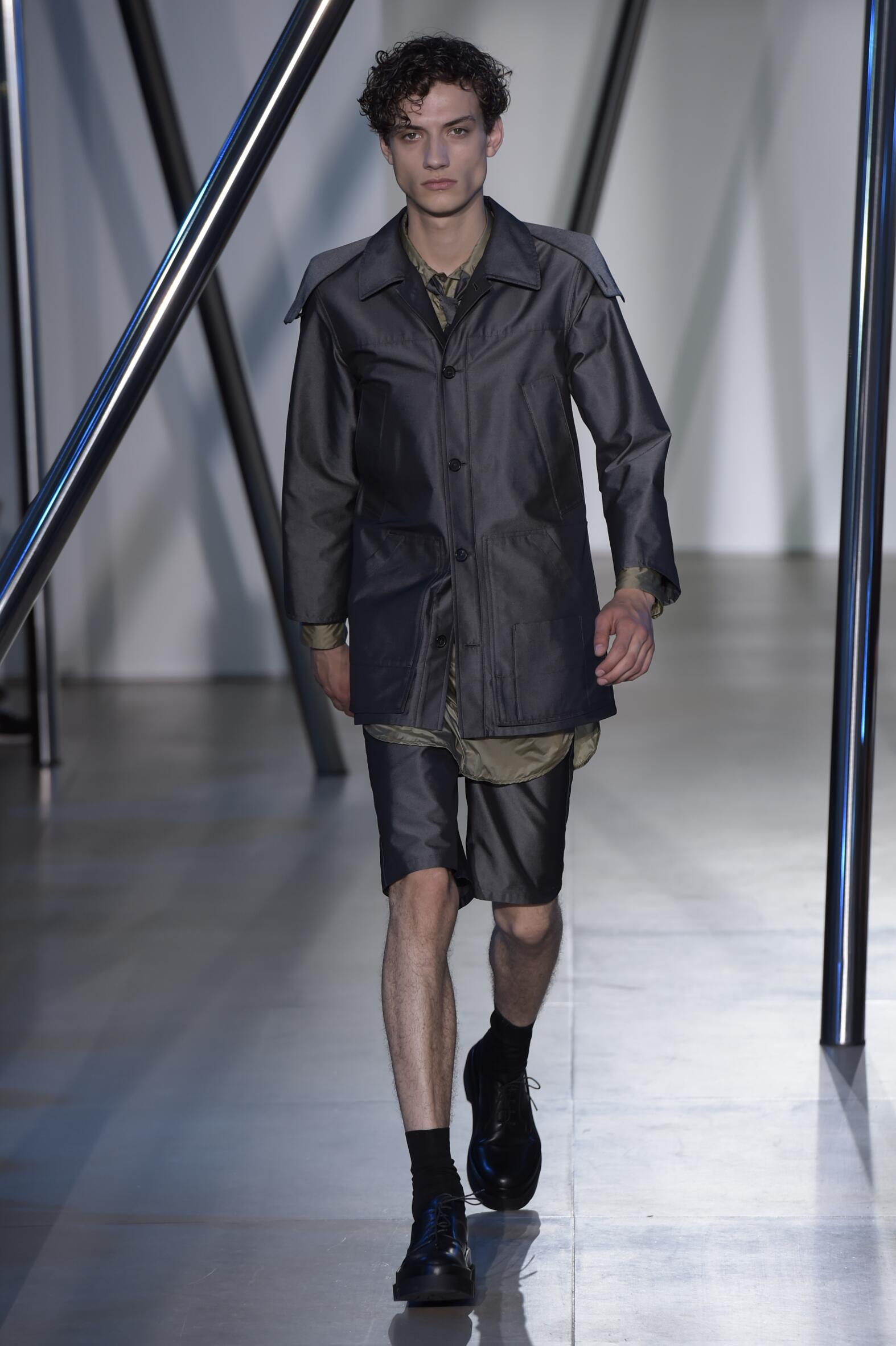 Jil Sander Spring Summer 2016 Menswear Collection Milan Fashion Week Fashion Show