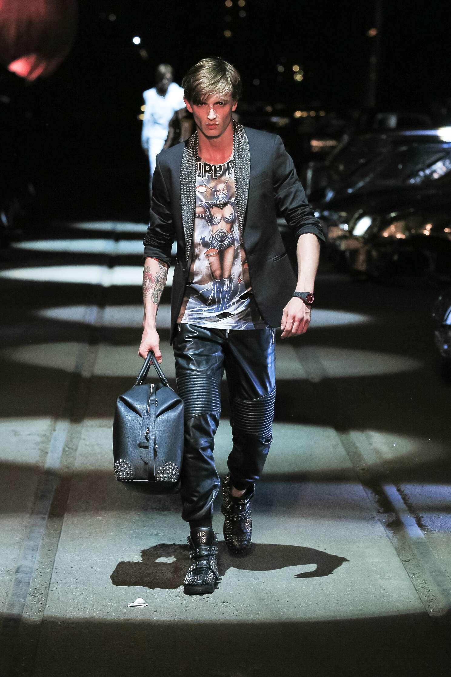 Philipp Plein Spring Summer 2016 Menswear Collection Milan Fashion Week Fashion Show