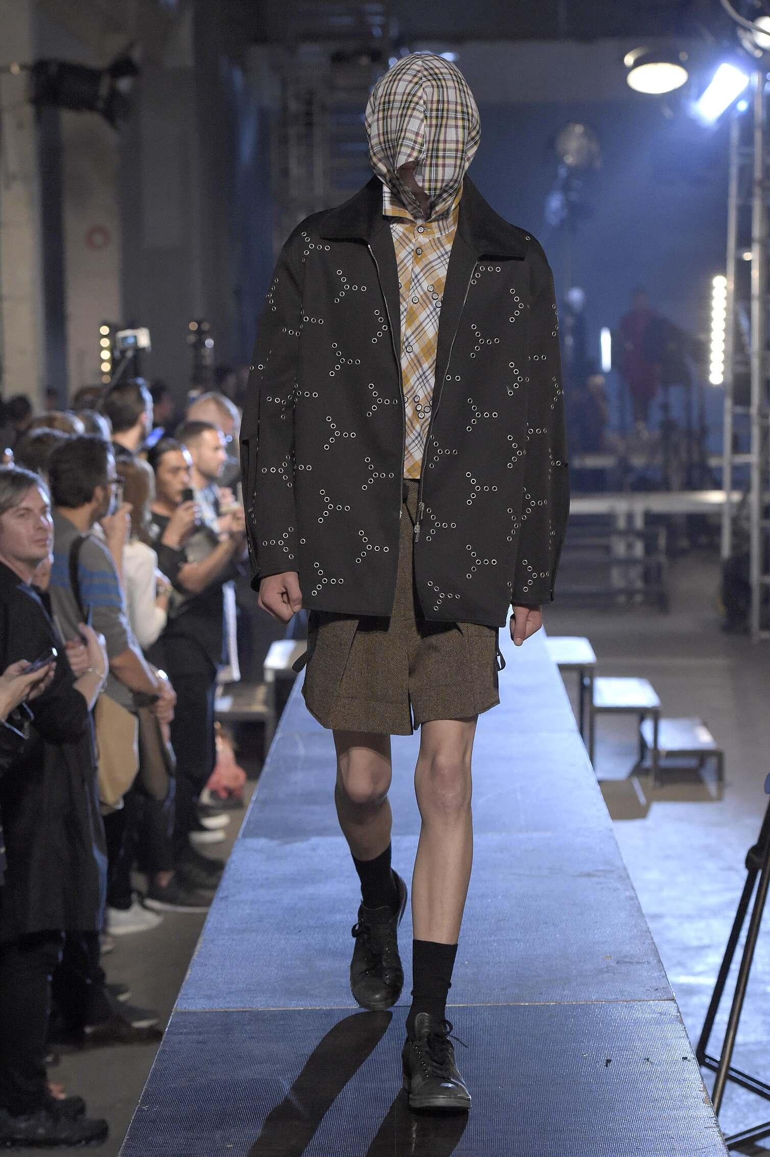 Raf Simons Collection London Fashion Week Menswear