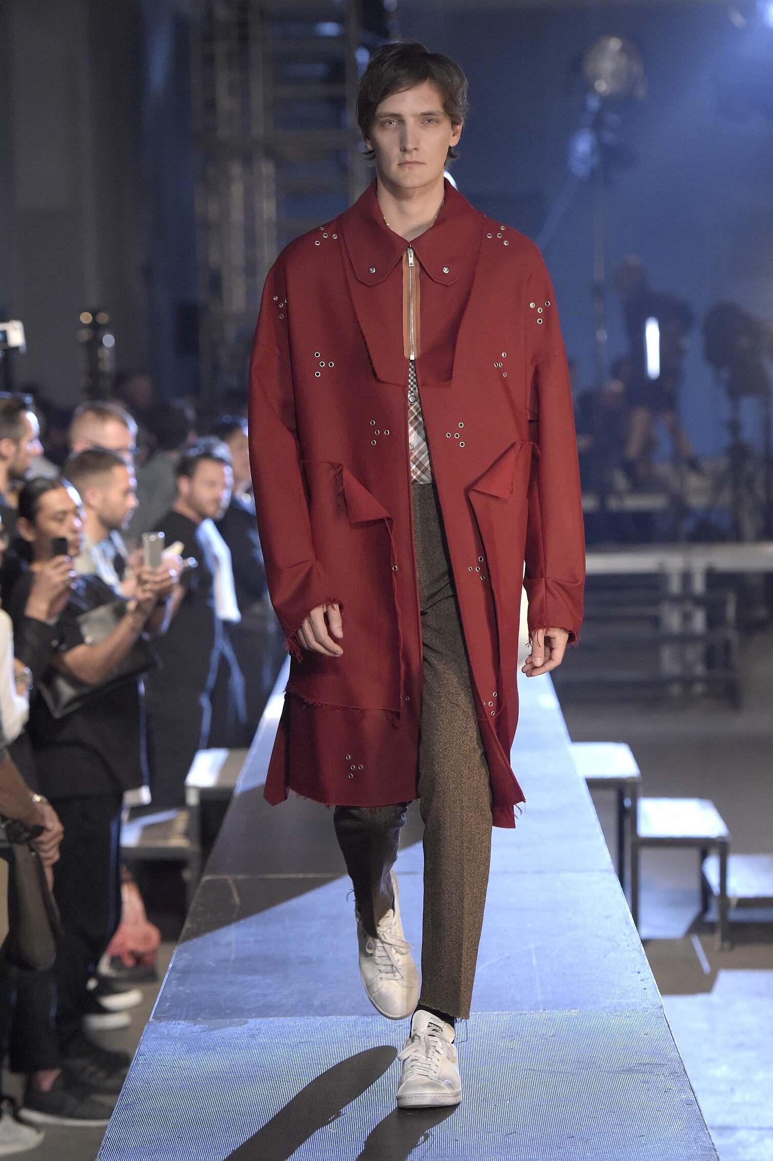 Raf Simons Collection Man London Fashion Week