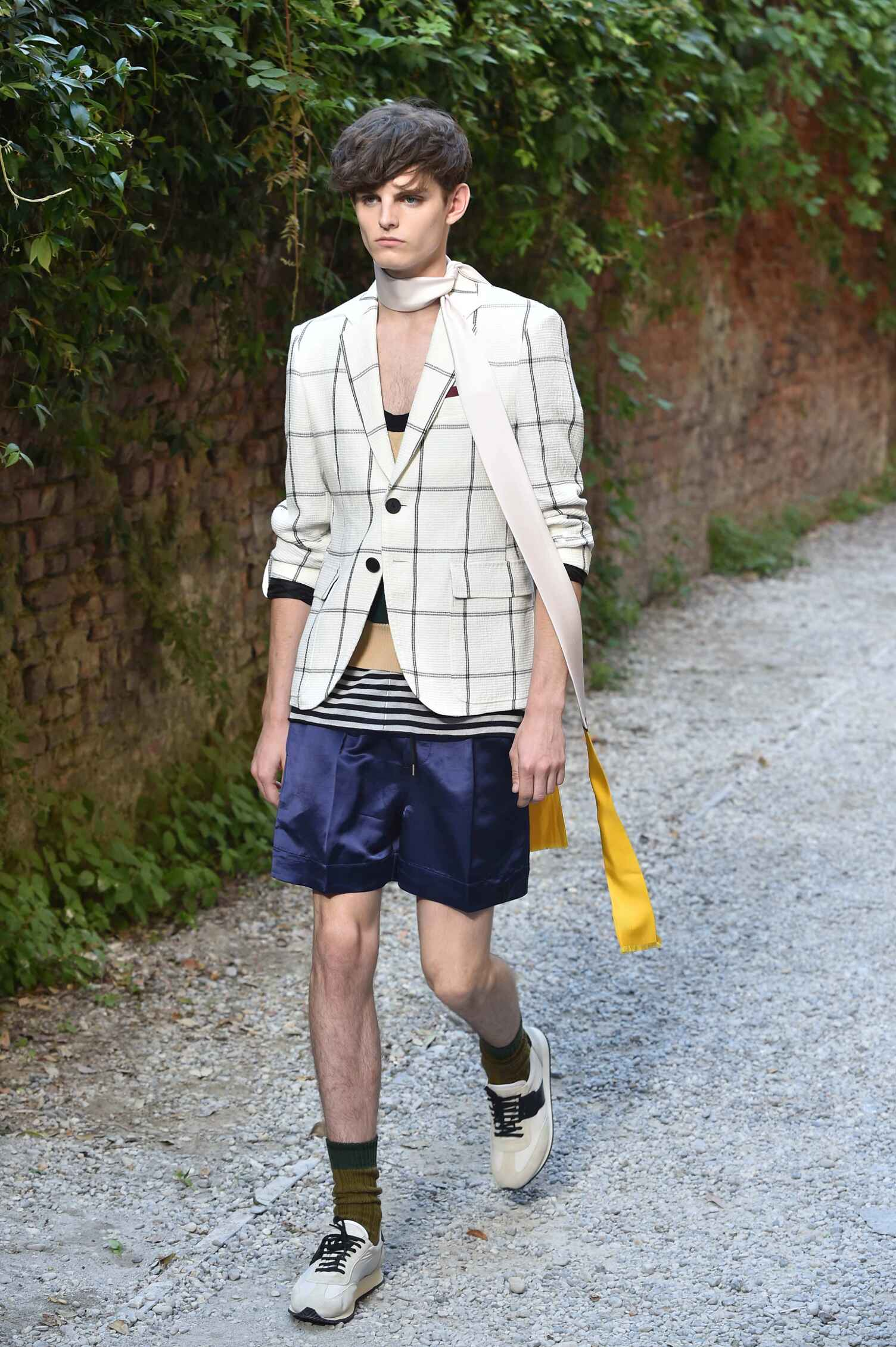 Runway Andrea Pompilio Spring Summer 2016 Men's Collection Milan Fashion Week