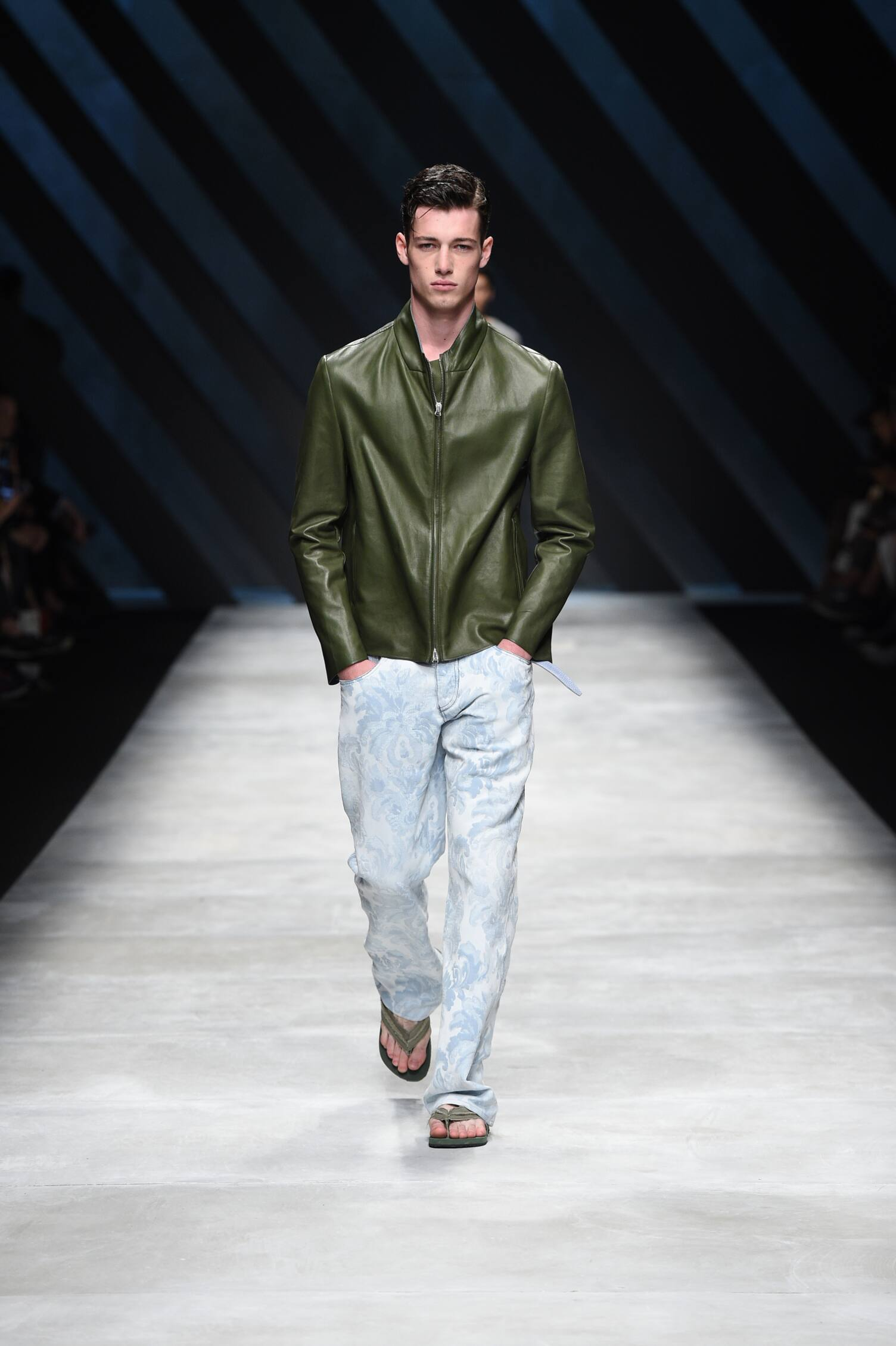 Runway Ermanno Scervino Spring Summer 2016 Men's Collection Milan Fashion Week