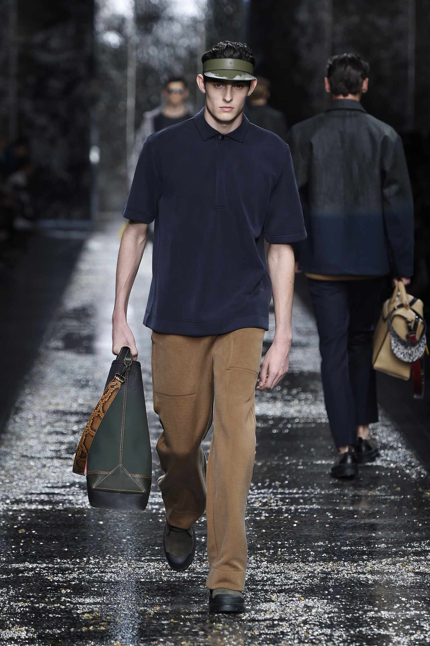 Runway Fendi Spring Summer 2016 Men's Collection Milan Fashion Week