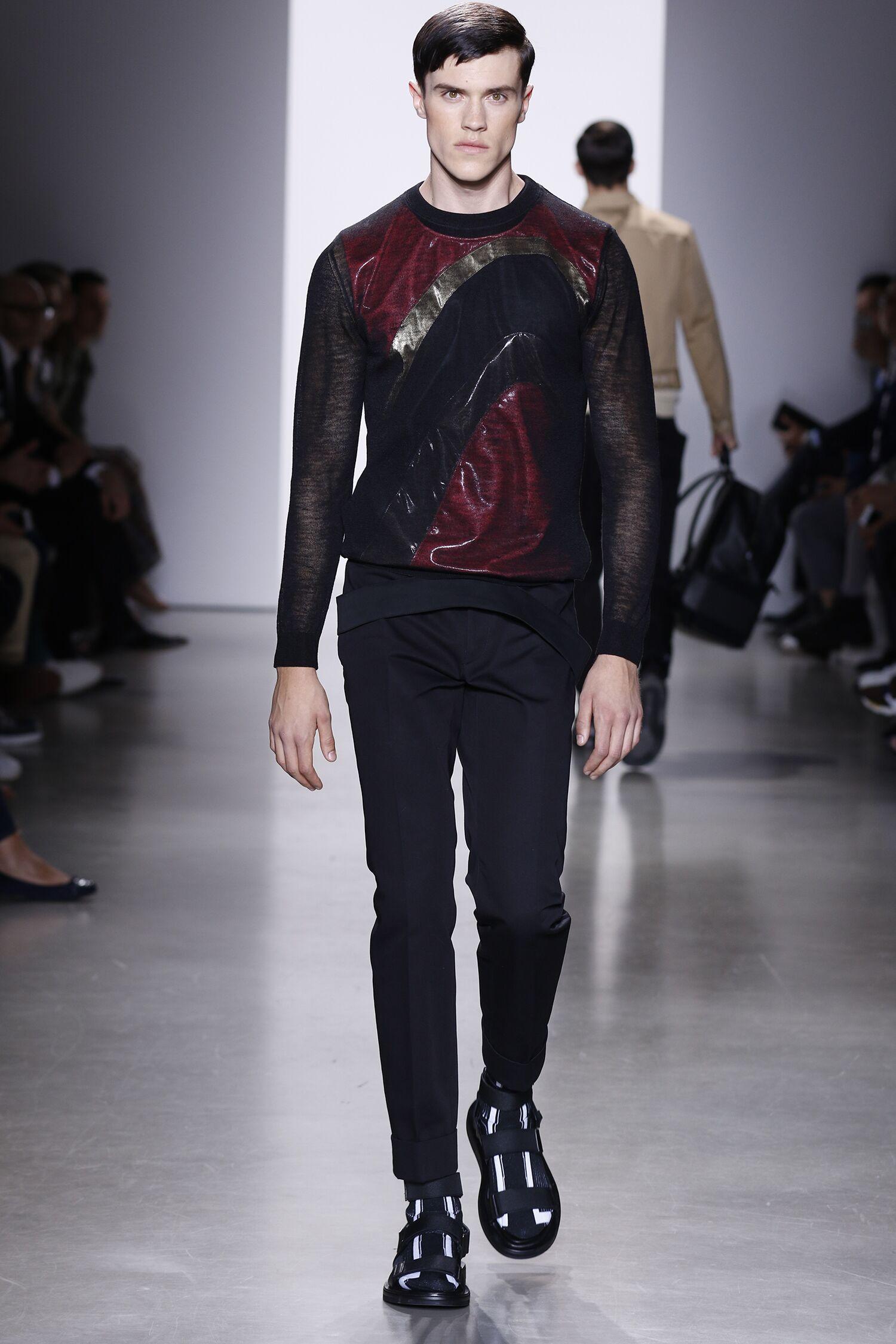 Spring 2016 Men Fashion Show Calvin Klein Collection