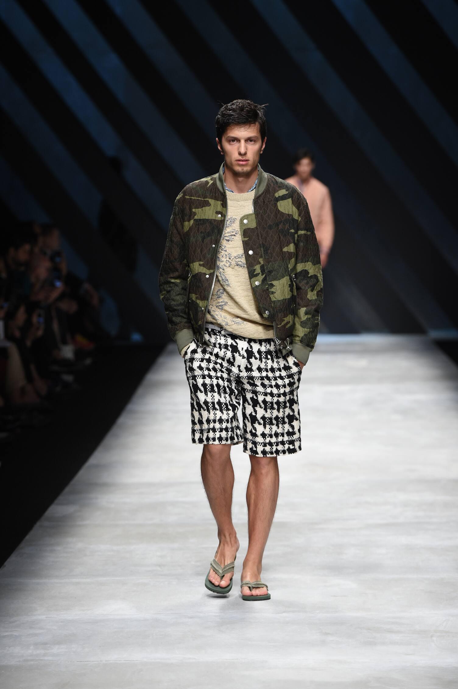 Spring 2016 Men Fashion Show Ermanno Scervino Collection