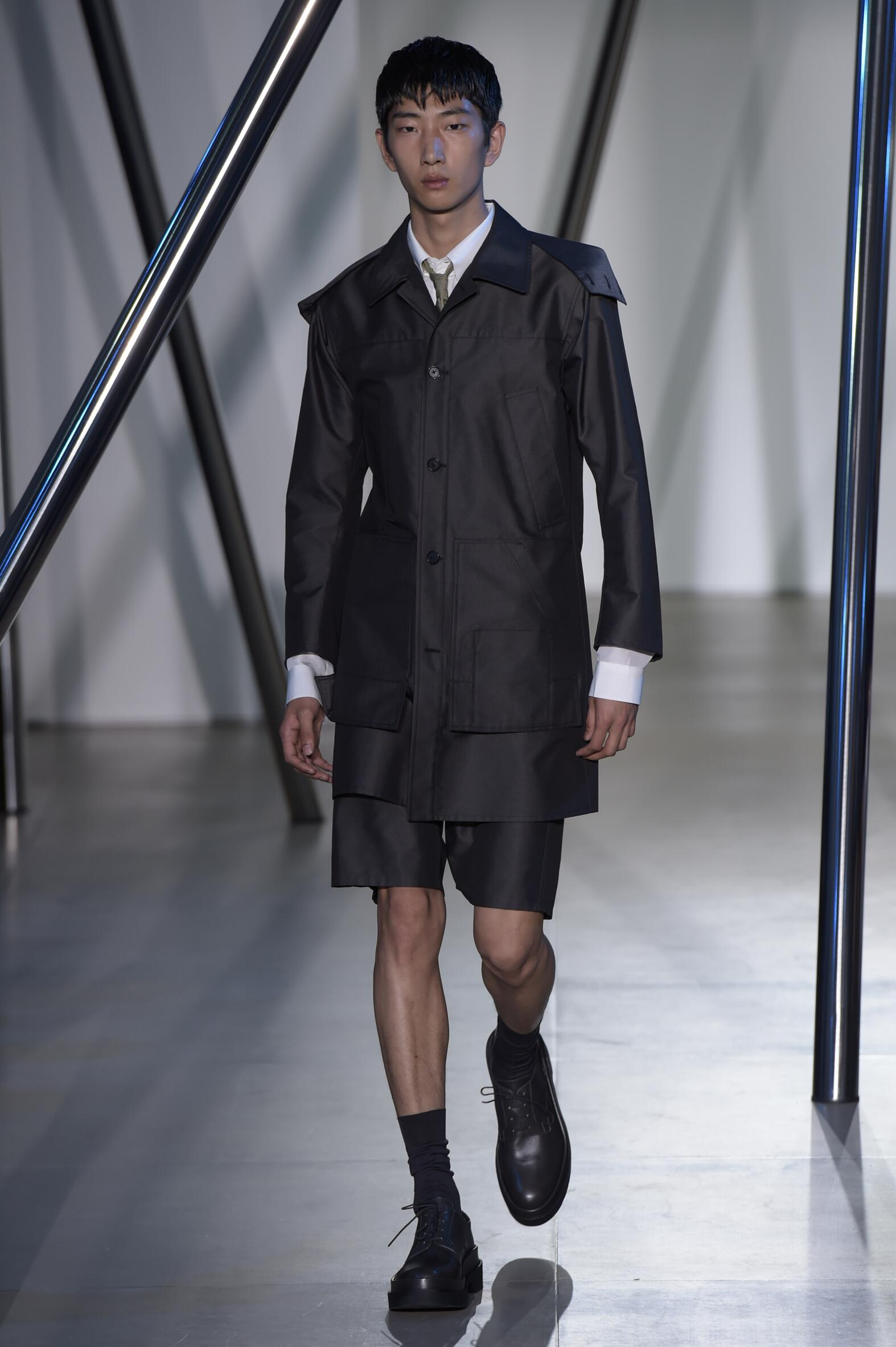 Spring 2016 Men Fashion Show Jil Sander Collection