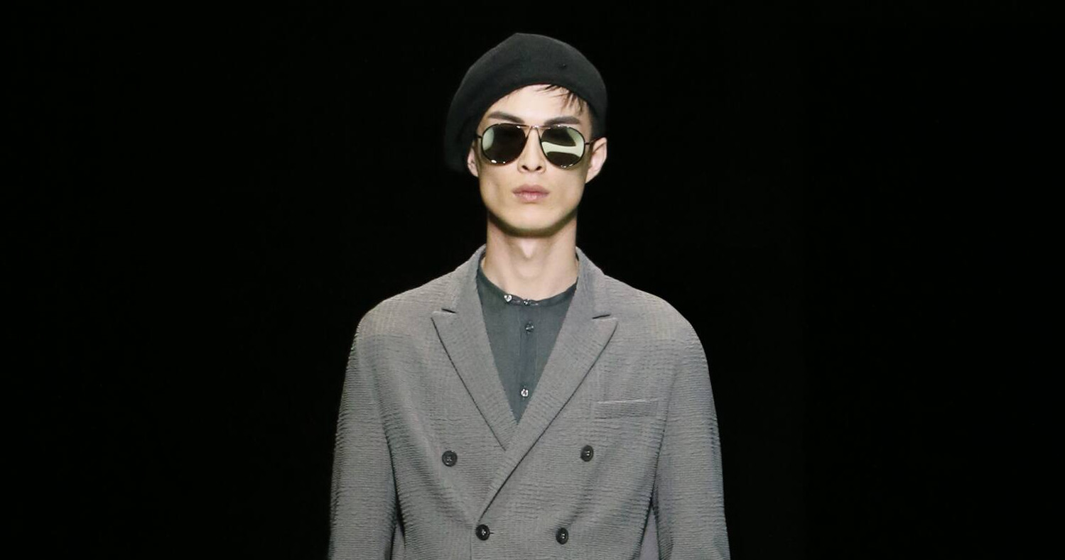 Spring Fashion Man Emporio Armani Collection 2016