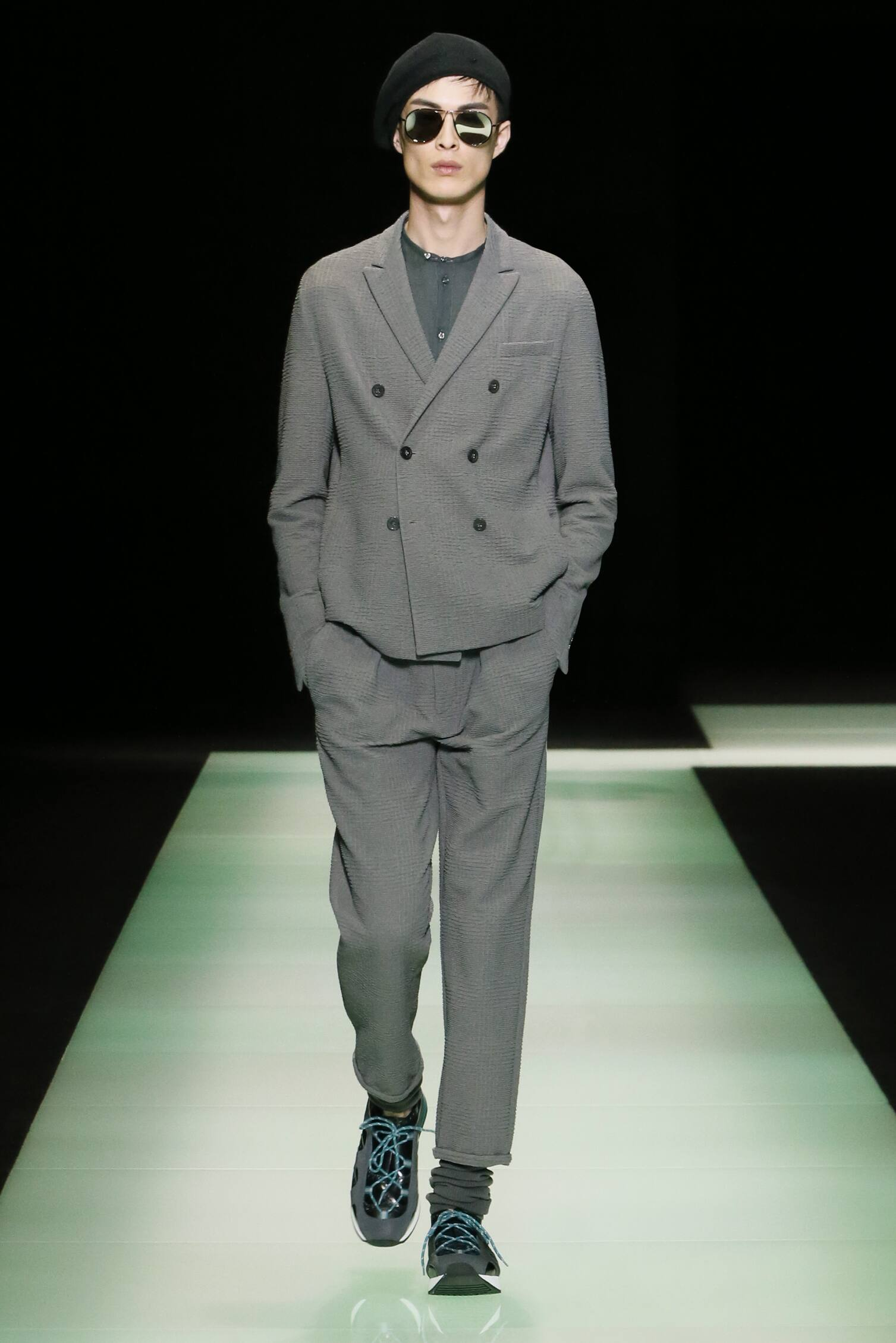 Spring Fashion Man Emporio Armani Collection