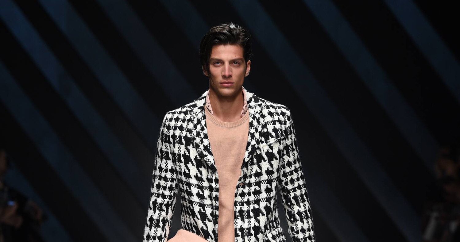 Spring Fashion Man Ermanno Scervino Collection 2016