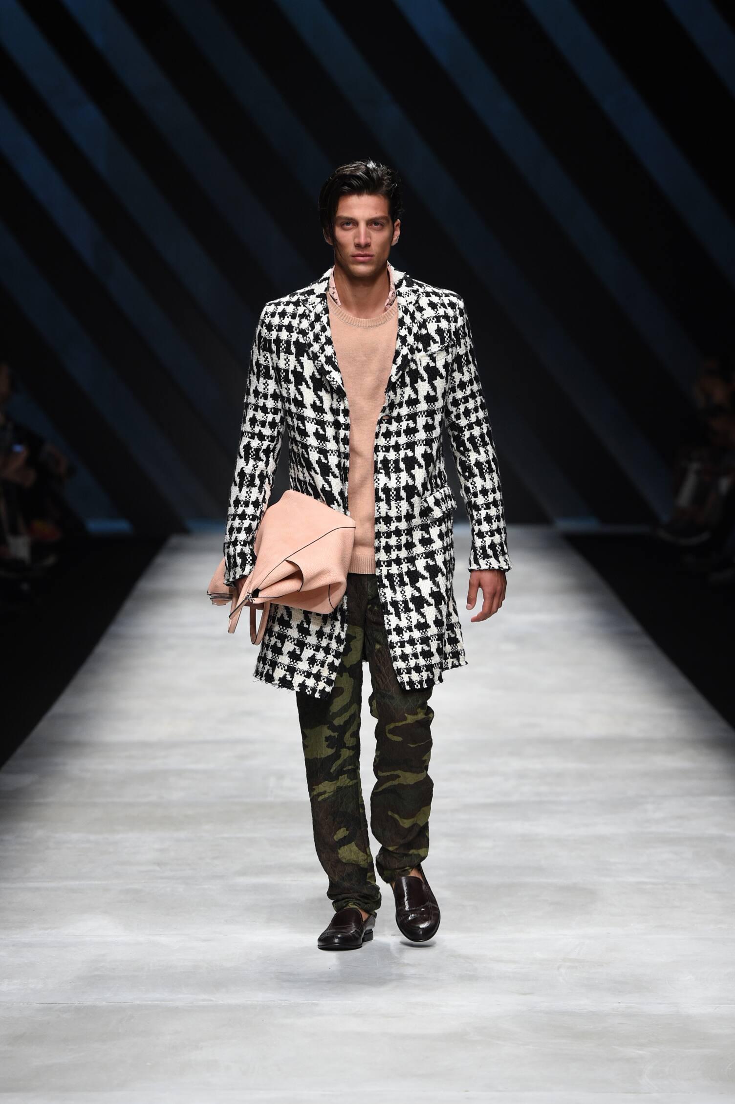 Spring Fashion Man Ermanno Scervino Collection