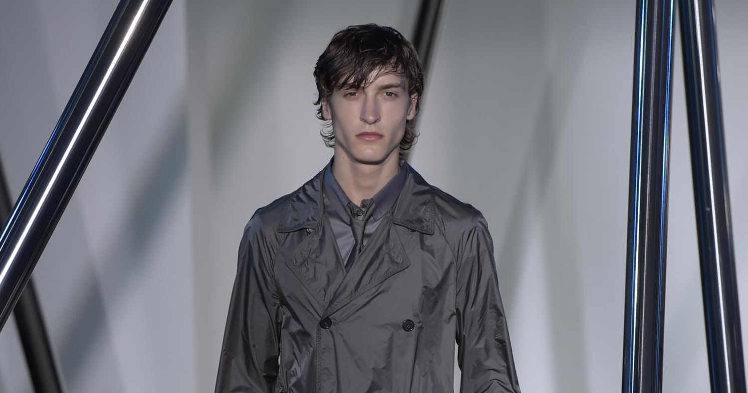Spring  Fashion Man Jil Sander Collection 2016