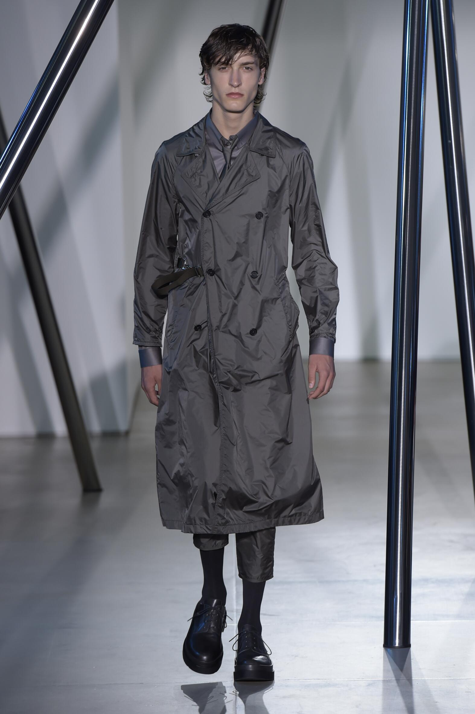 Spring Fashion Man Jil Sander Collection
