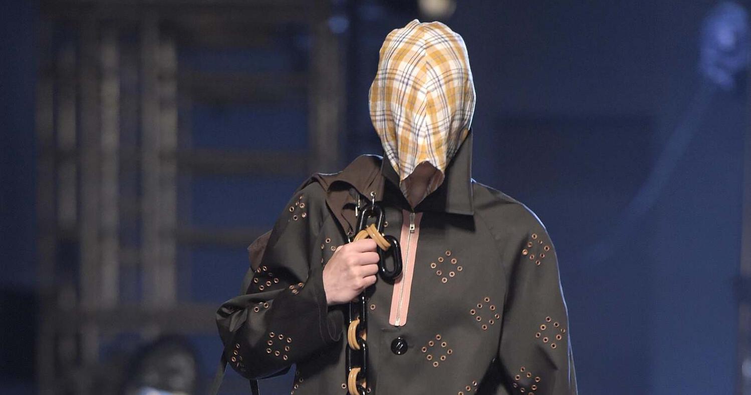 Spring Fashion Man Raf Simons Collection 2015