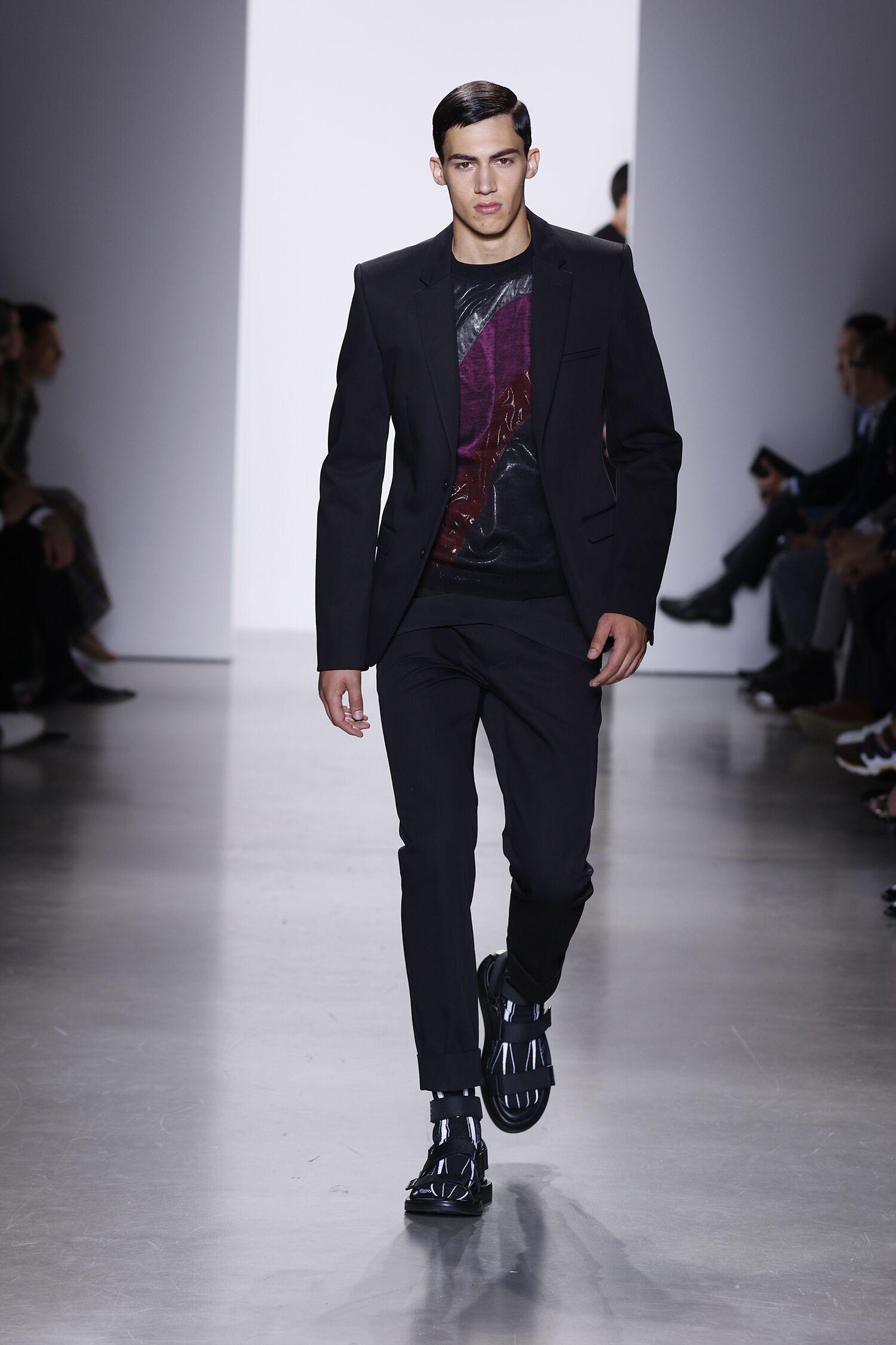 Summer 2016 Man Trends Calvin Klein Collection