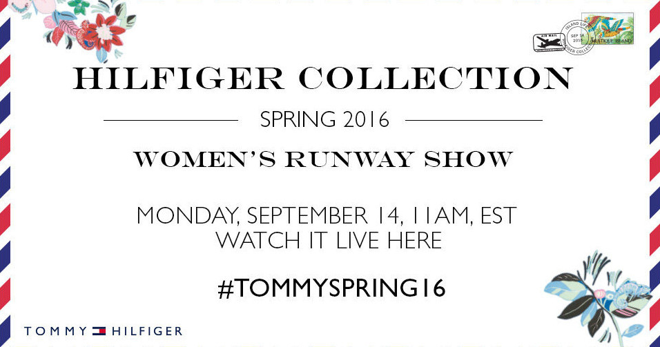 Tommy Hilfiger Spring 2016 Women's Fashion Show Live Streaming