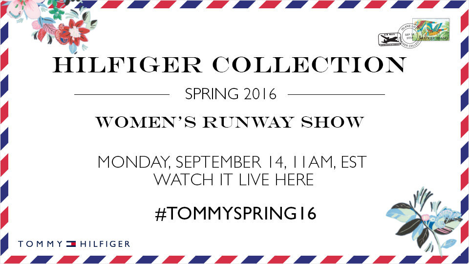 Tommy Hilfiger Spring 2016 Women's Fashion Show Live from New York Fashion Week