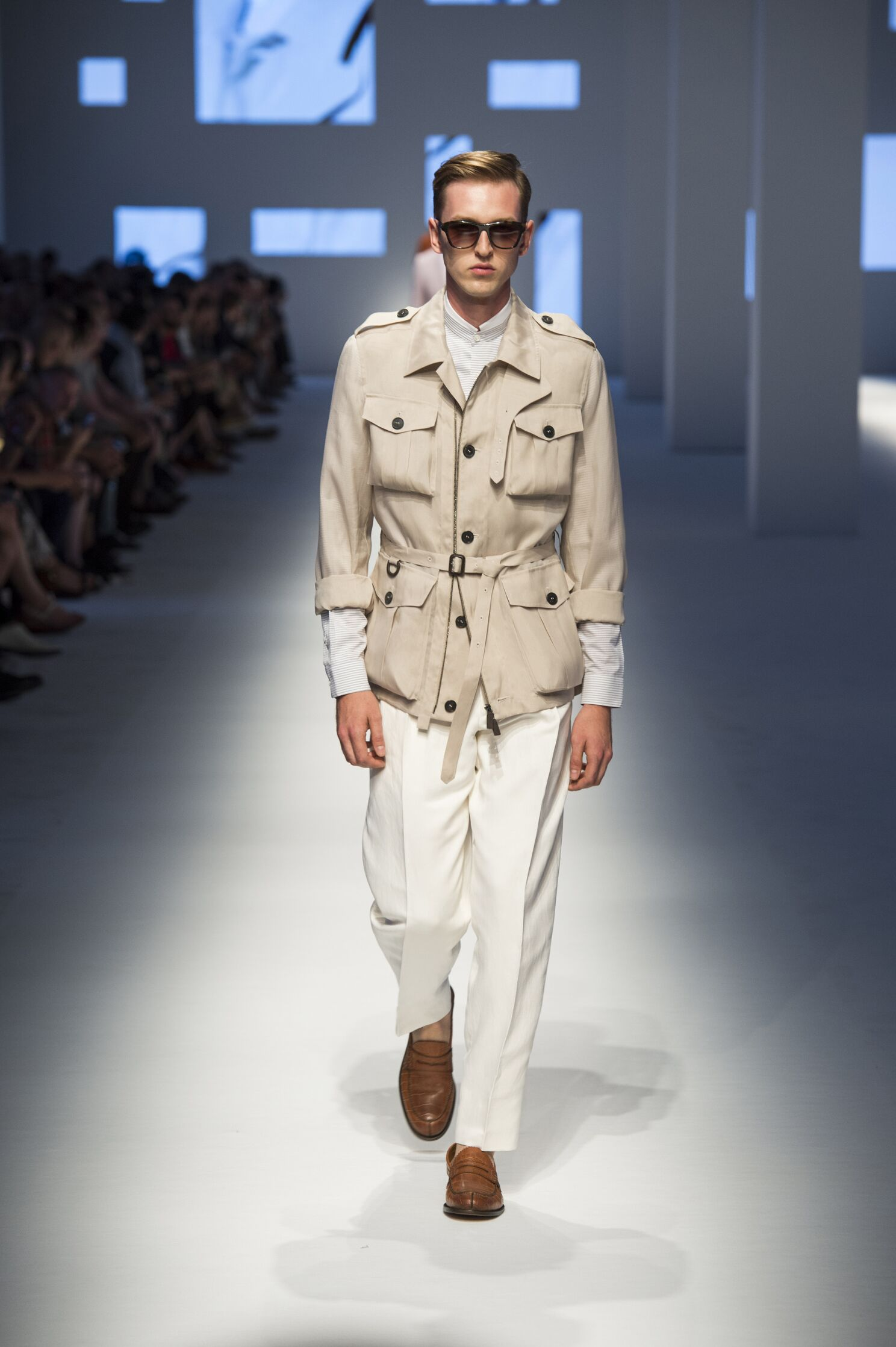Canali Collection Fashion Show SS 2016