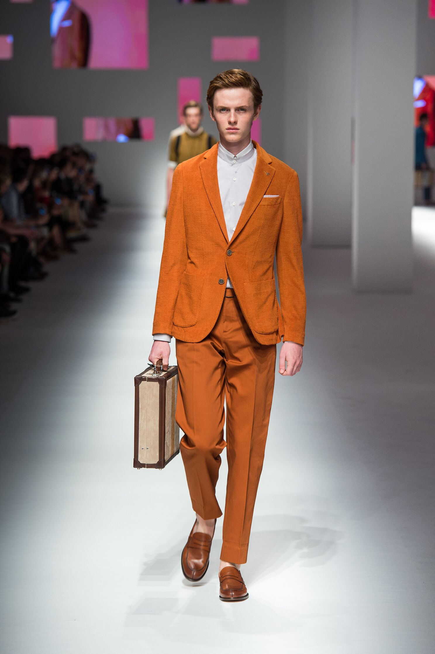 Canali Collection Milan Fashion Week Menswear