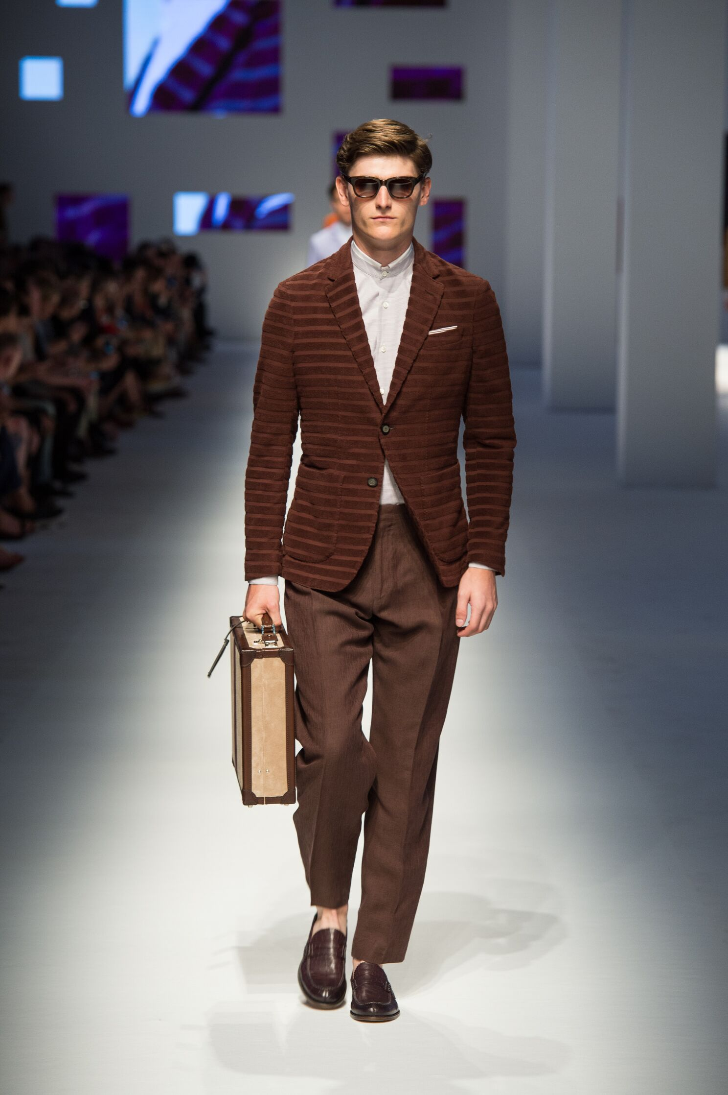 Canali Collection Milan Fashion Week