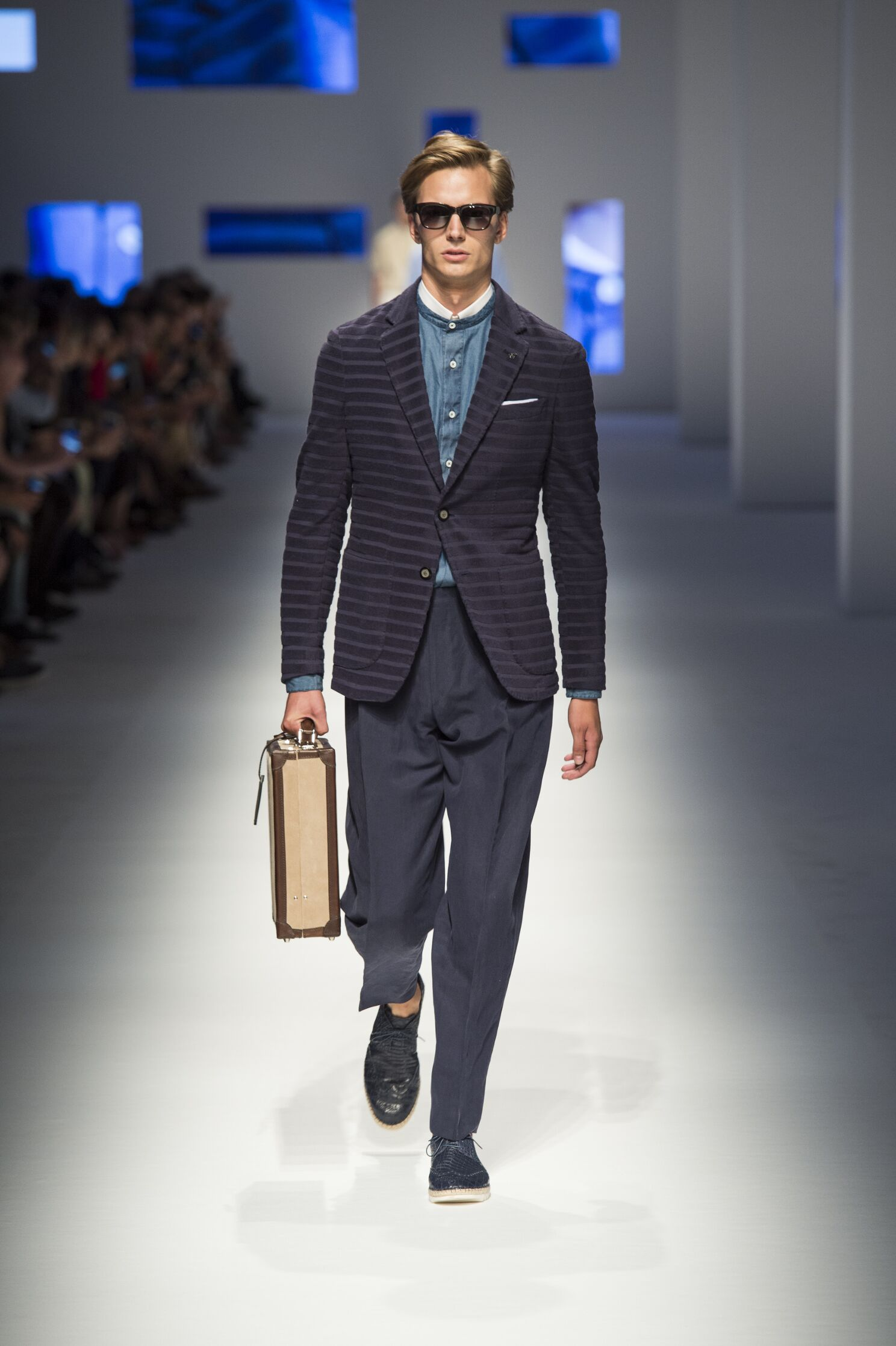 Canali Spring Summer 2016 Menswear Collection Milan Fashion Week Fashion Show