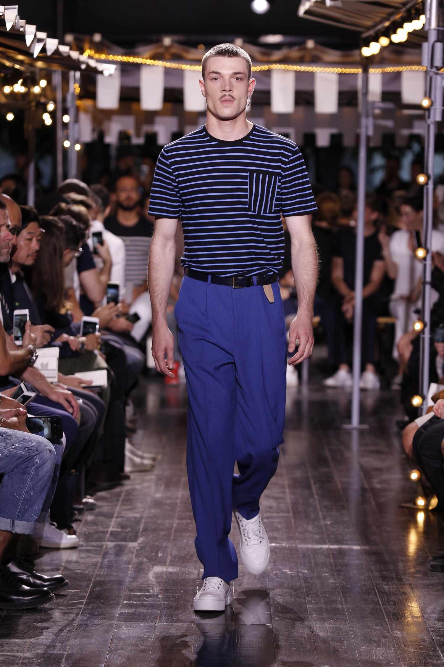 Catwalk Ami Collection Fashion Show Summer 2016