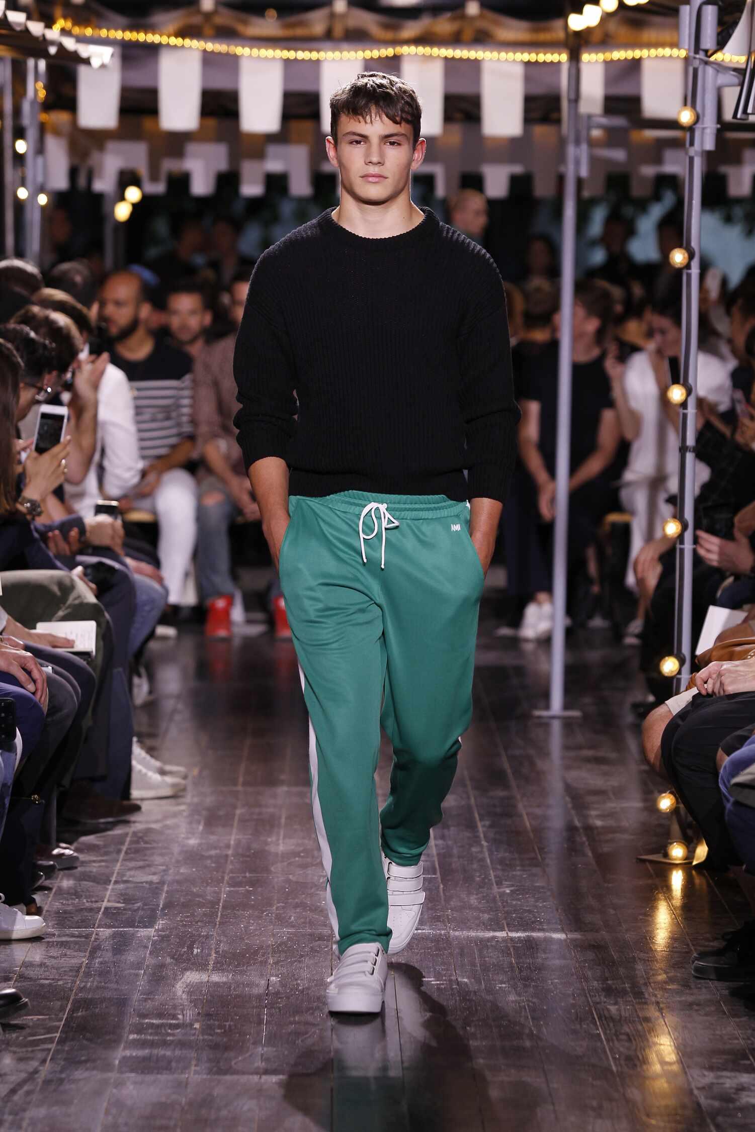 Catwalk Ami Menswear Collection Summer 2016