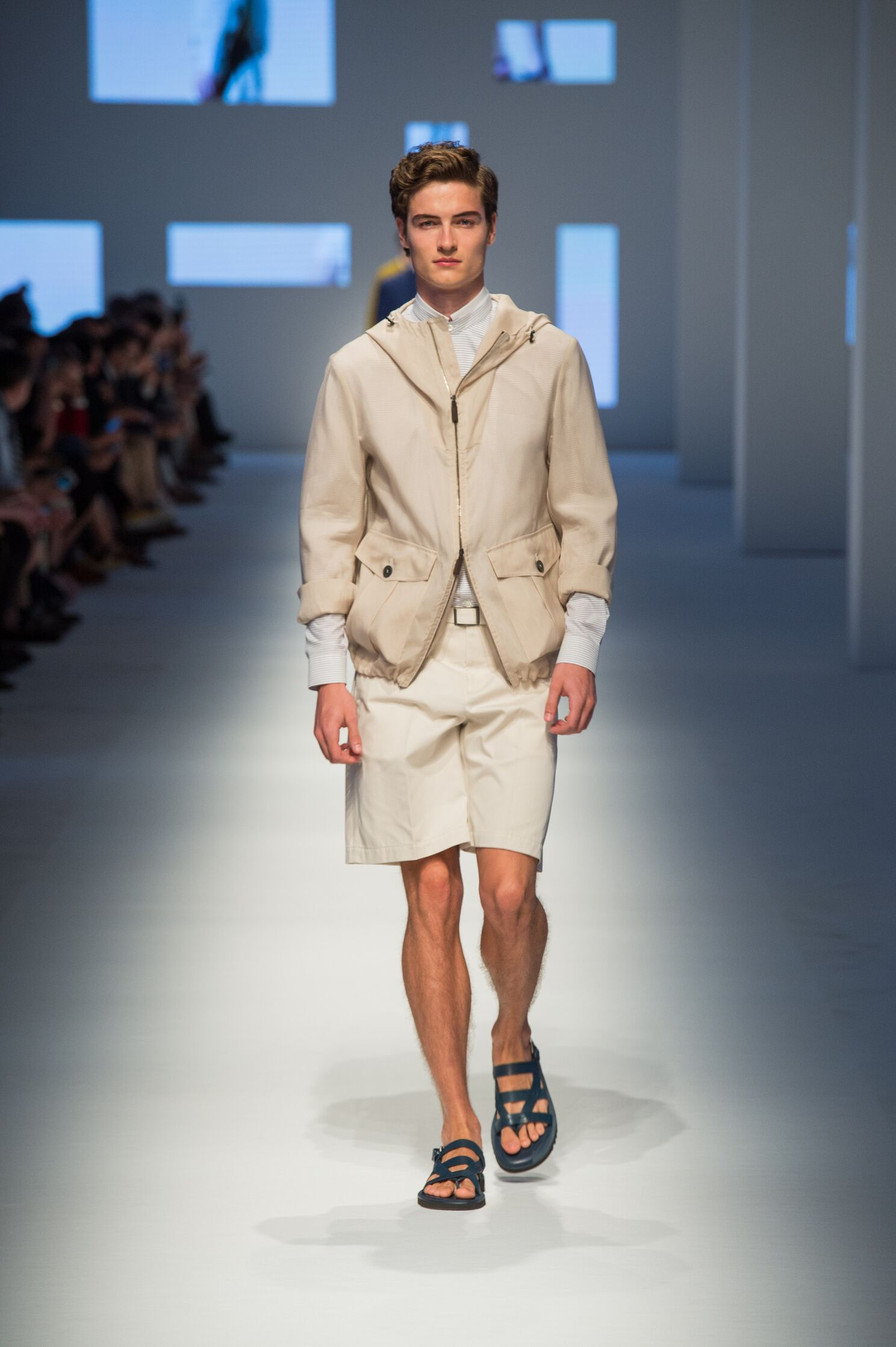 Catwalk Canali Collection Fashion Show Summer 2016