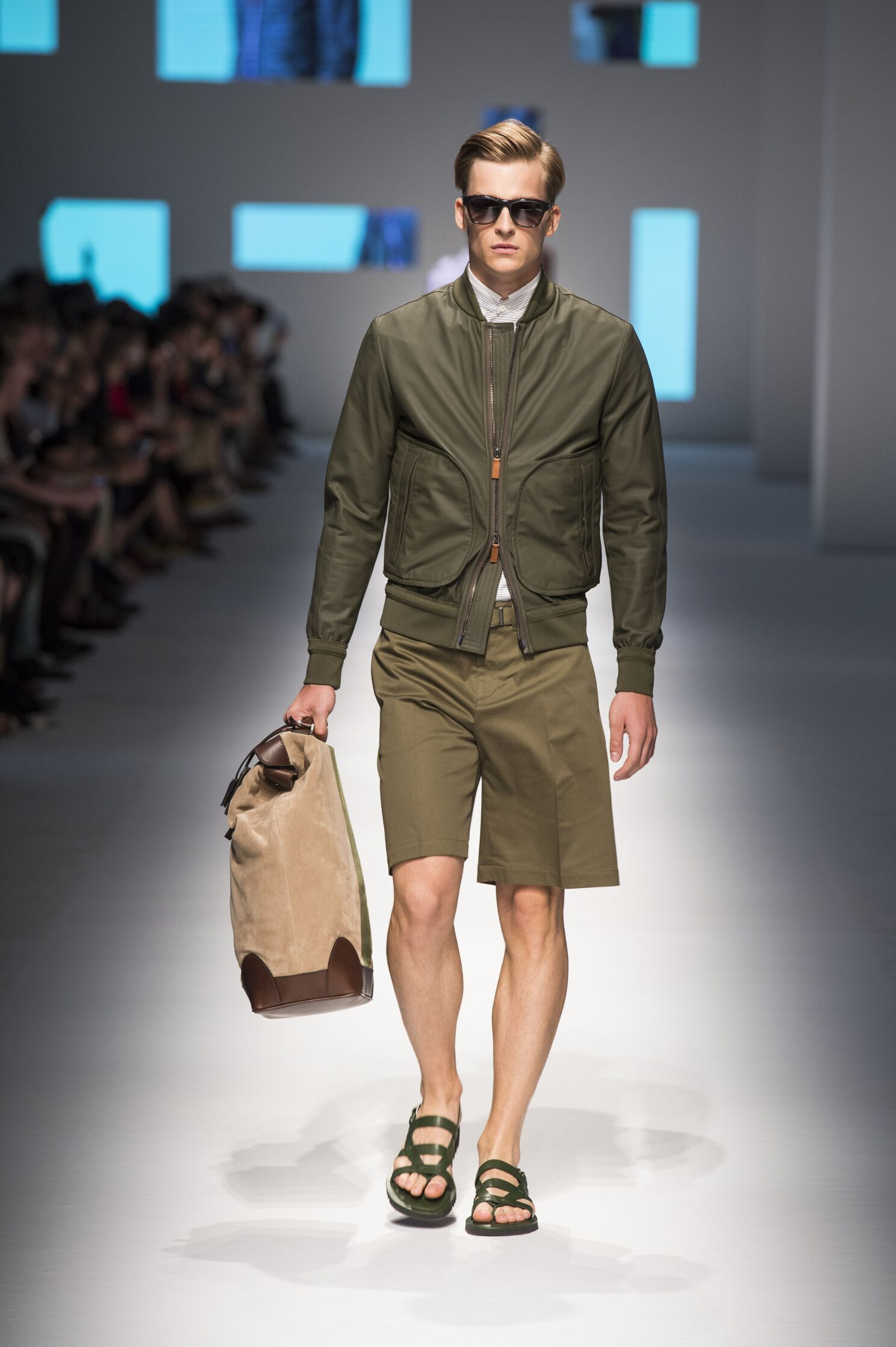 Catwalk Canali Menswear Collection Summer 2016