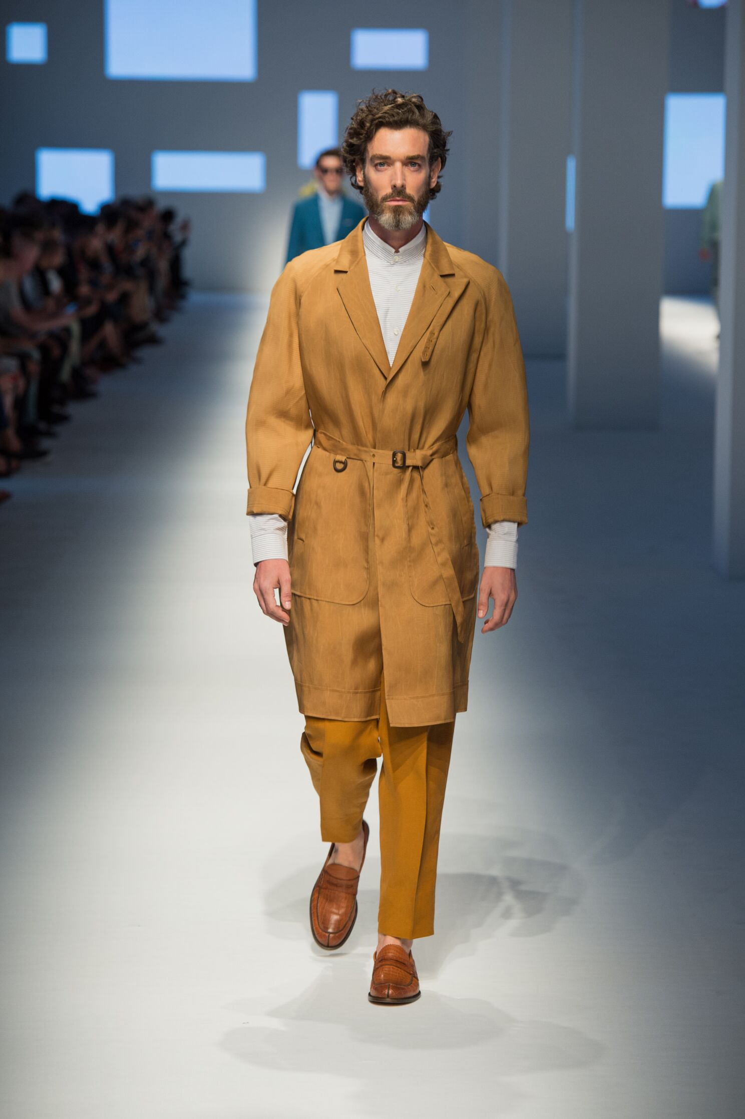 Fashion Menswear Canali Collection Catwalk