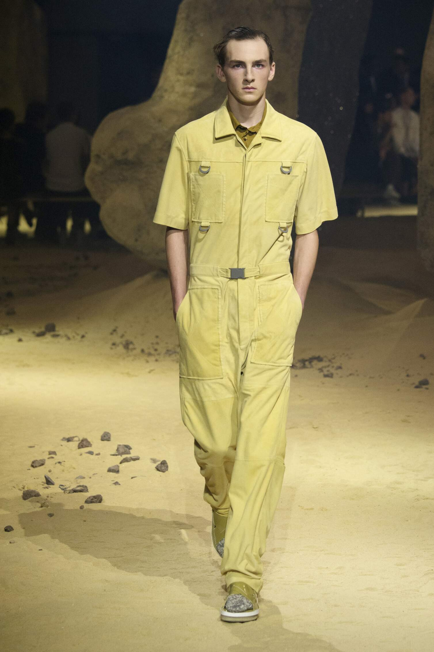 Fashion Menswear Kenzo Collection Catwalk