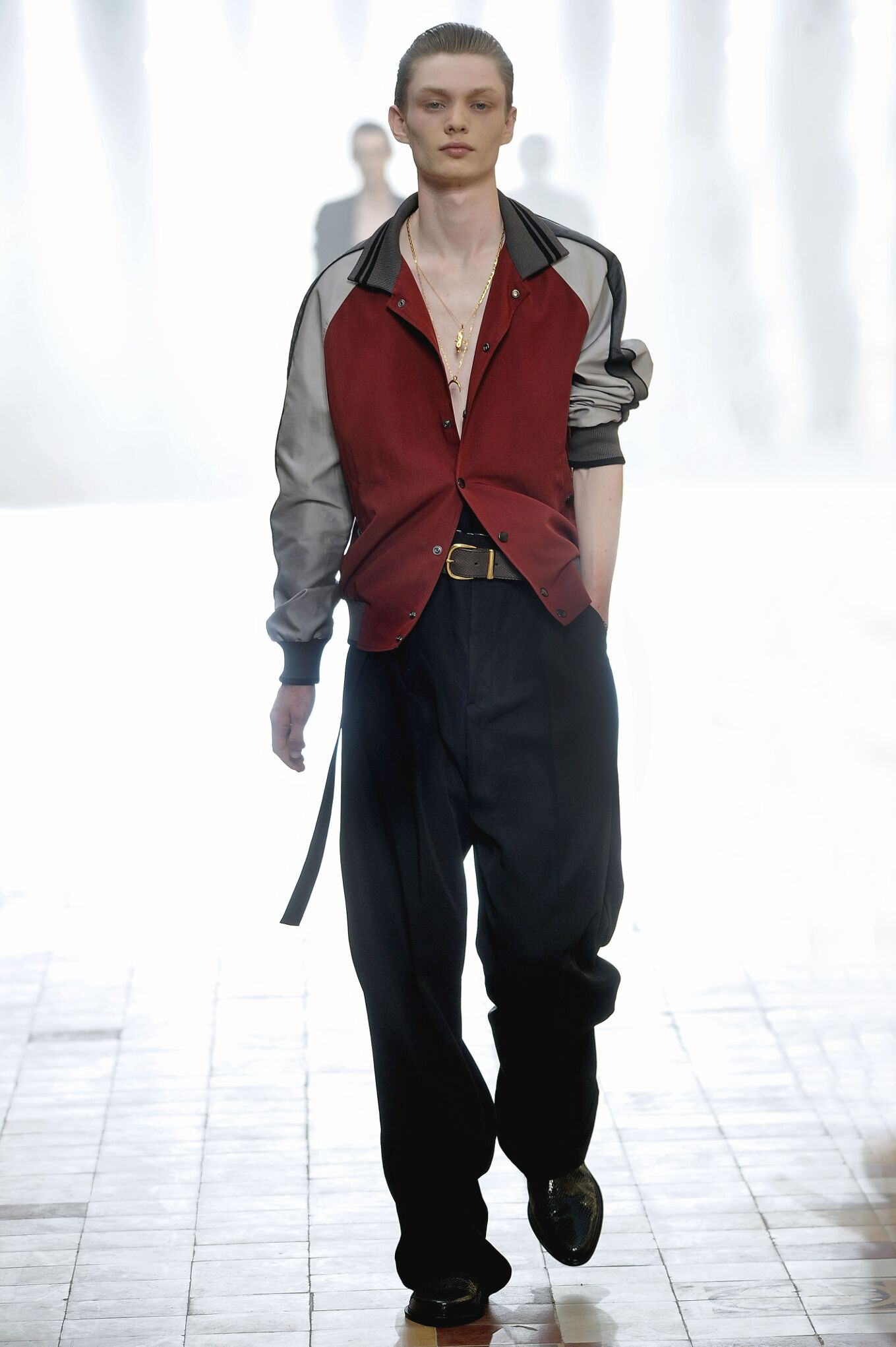 Fashion Menswear Lanvin Collection Catwalk