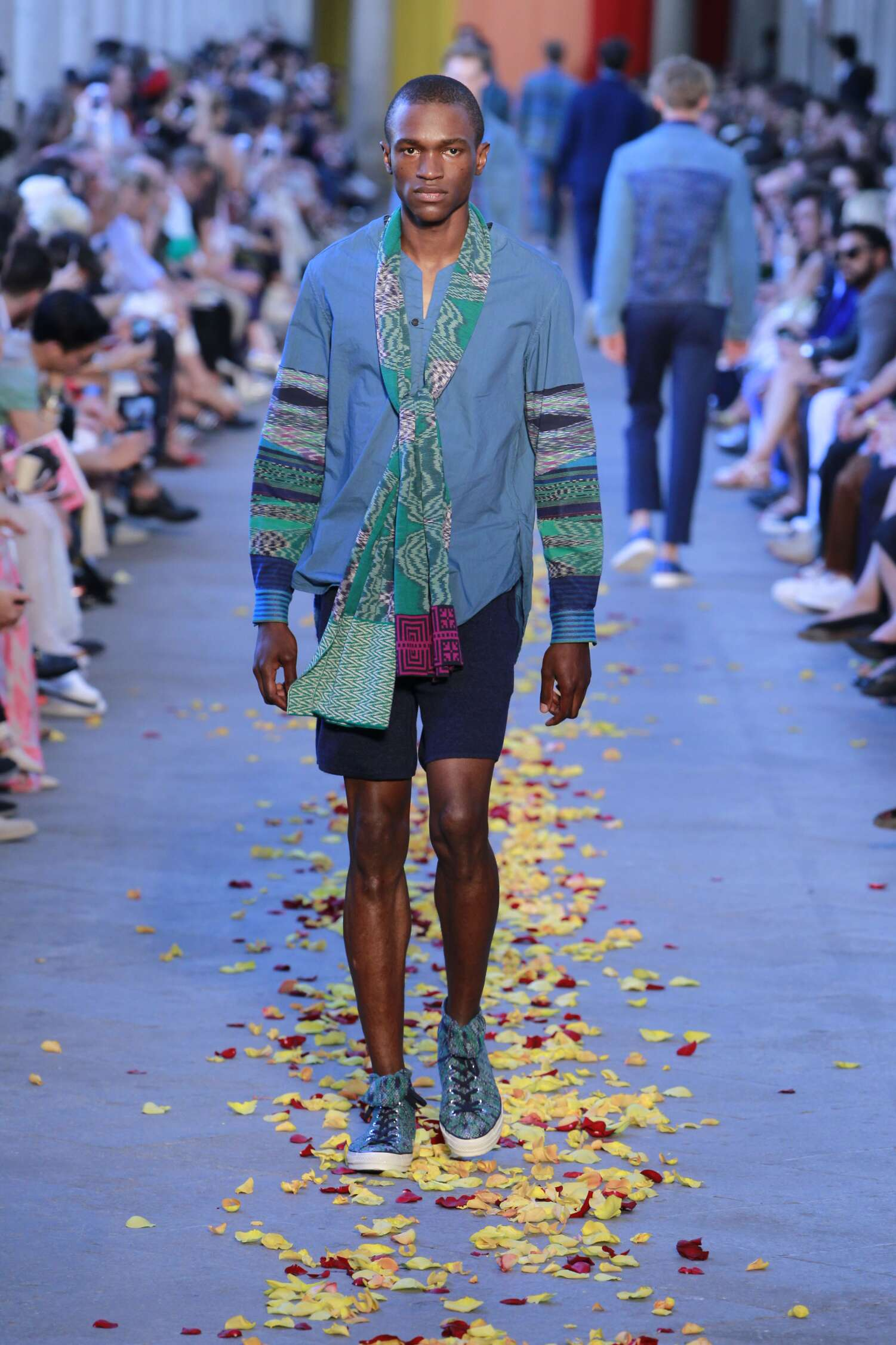 Fashion Menswear Missoni Collection Catwalk