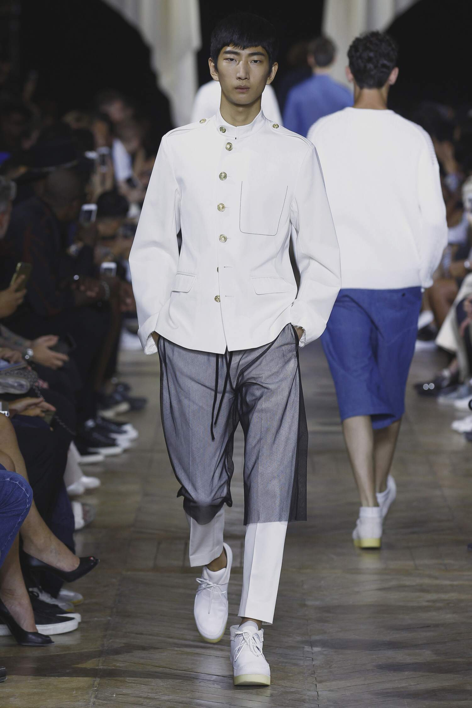 Fashion Menswear Phillip Lim Collection Catwalk