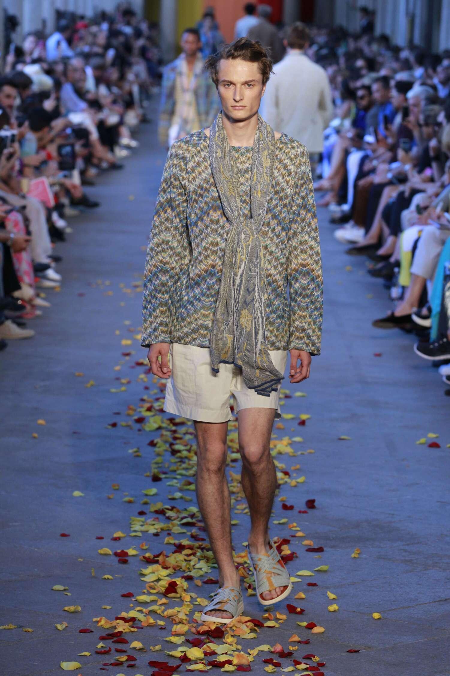 Missoni Spring Summer 2016 Menswear Collection Milan Fashion Week Fashion Show