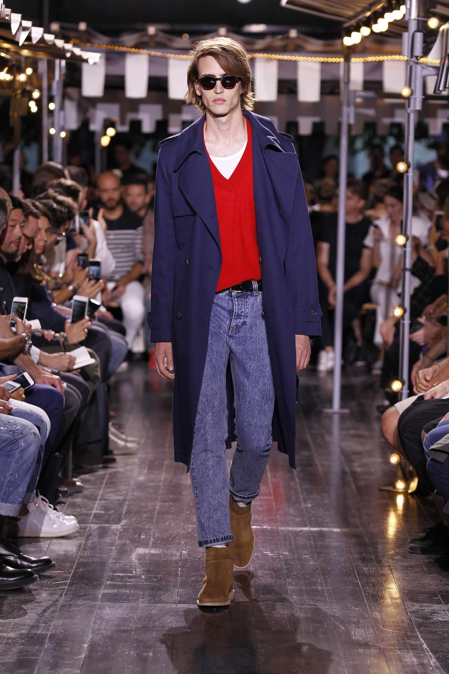 Runway Ami Spring Summer 2016 Men's Collection Paris Fashion Week