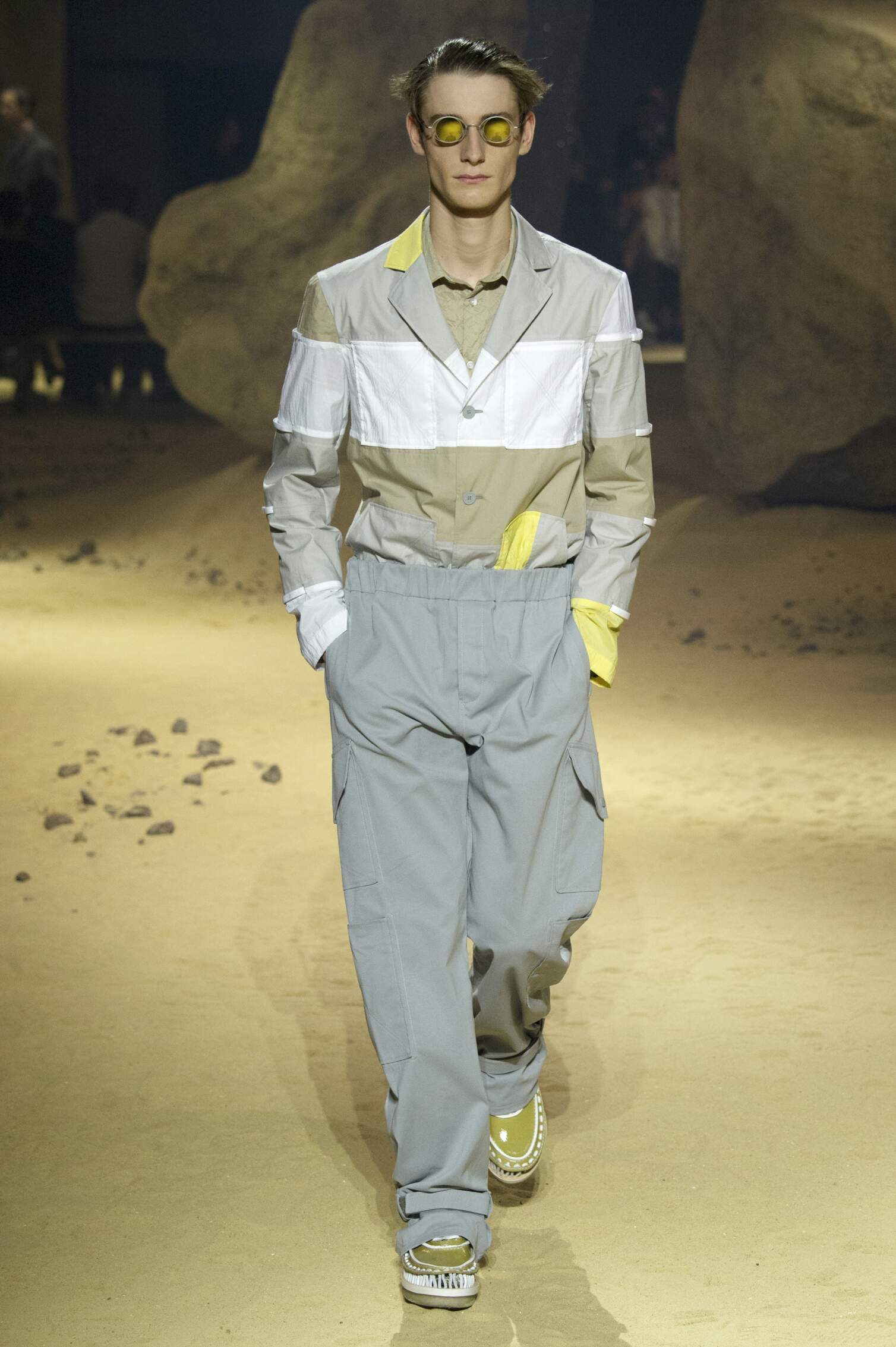 Runway Kenzo Spring Summer 2016 Men's Collection Paris Fashion Week