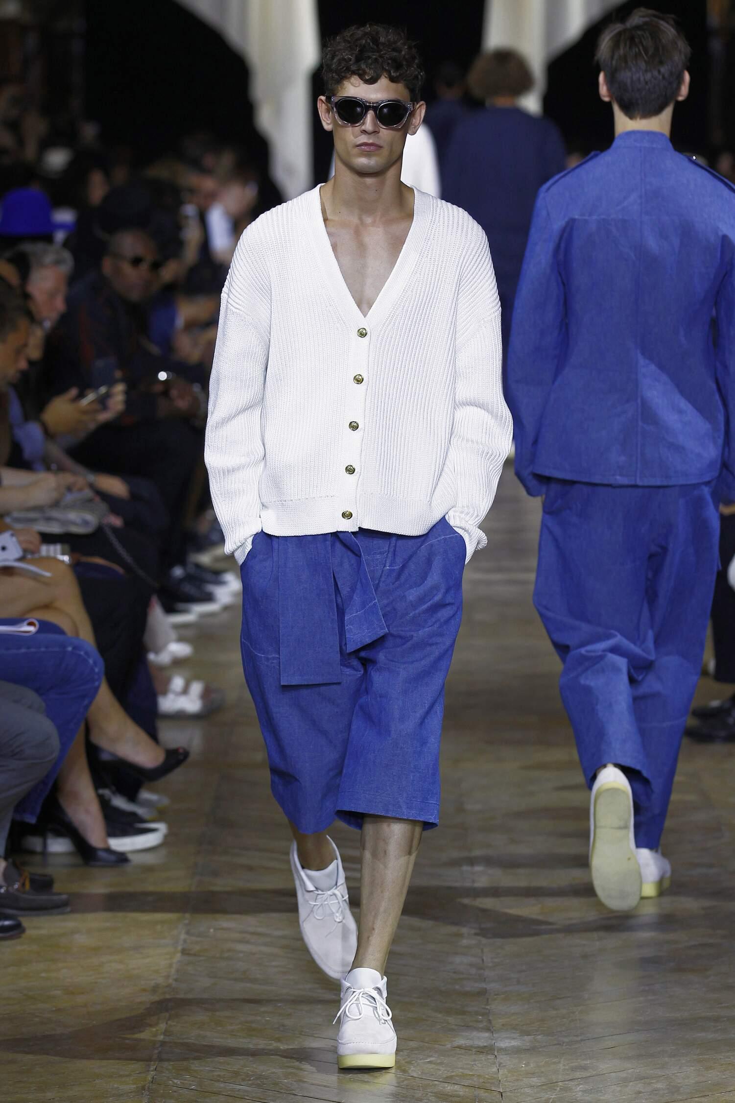Runway Phillip Lim Spring Summer 2016 Men's Collection Paris Fashion Week