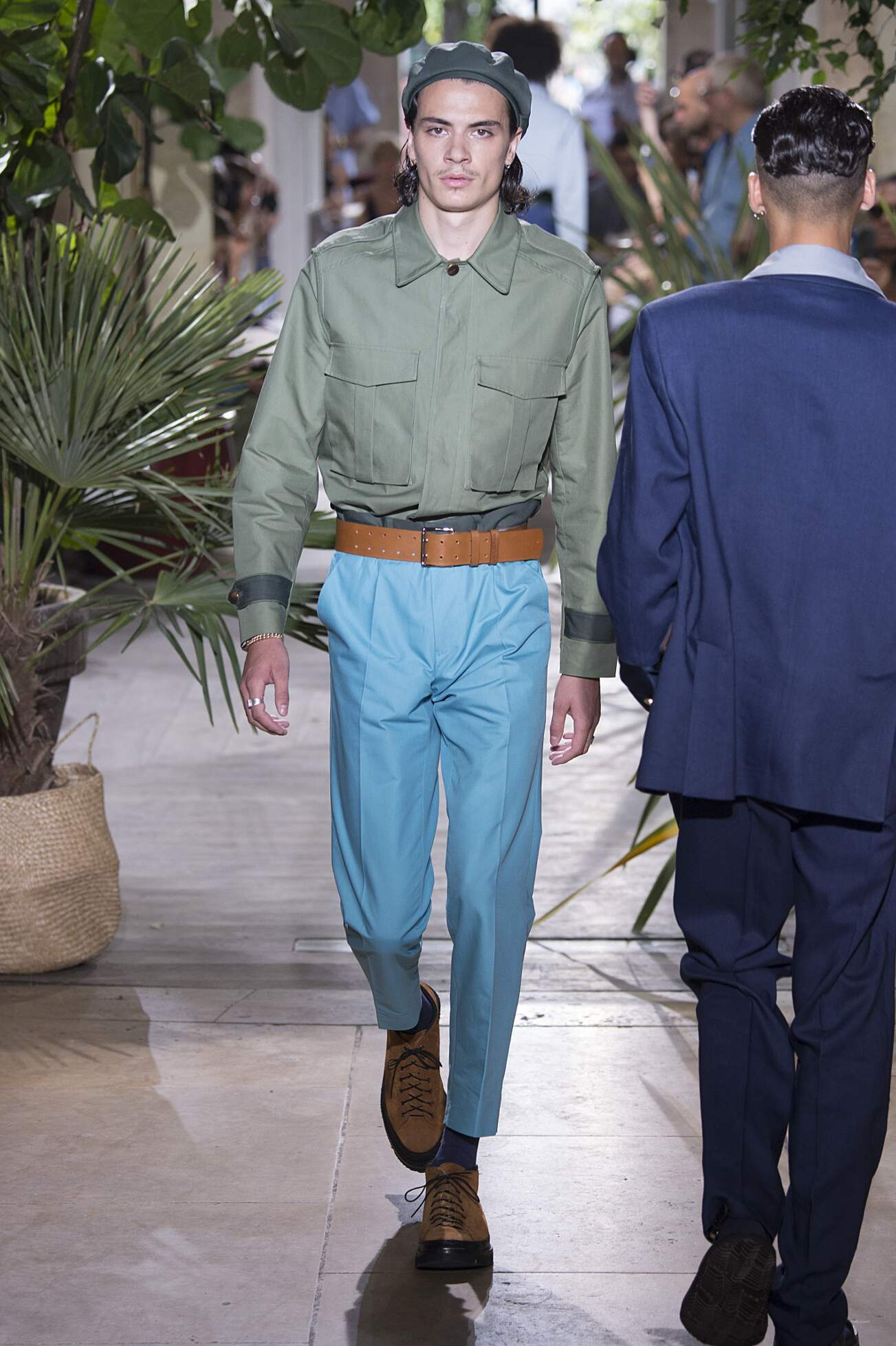 Runway Umit Benan Spring Summer 2016 Men's Collection Paris Fashion Week