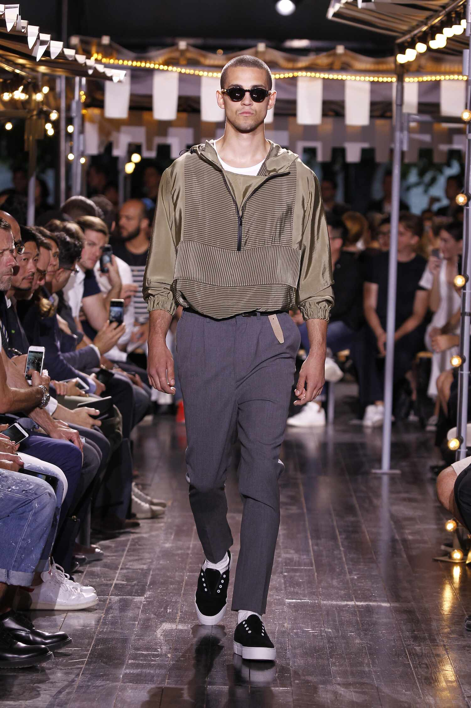 Spring 2016 Men Fashion Show Ami Collection