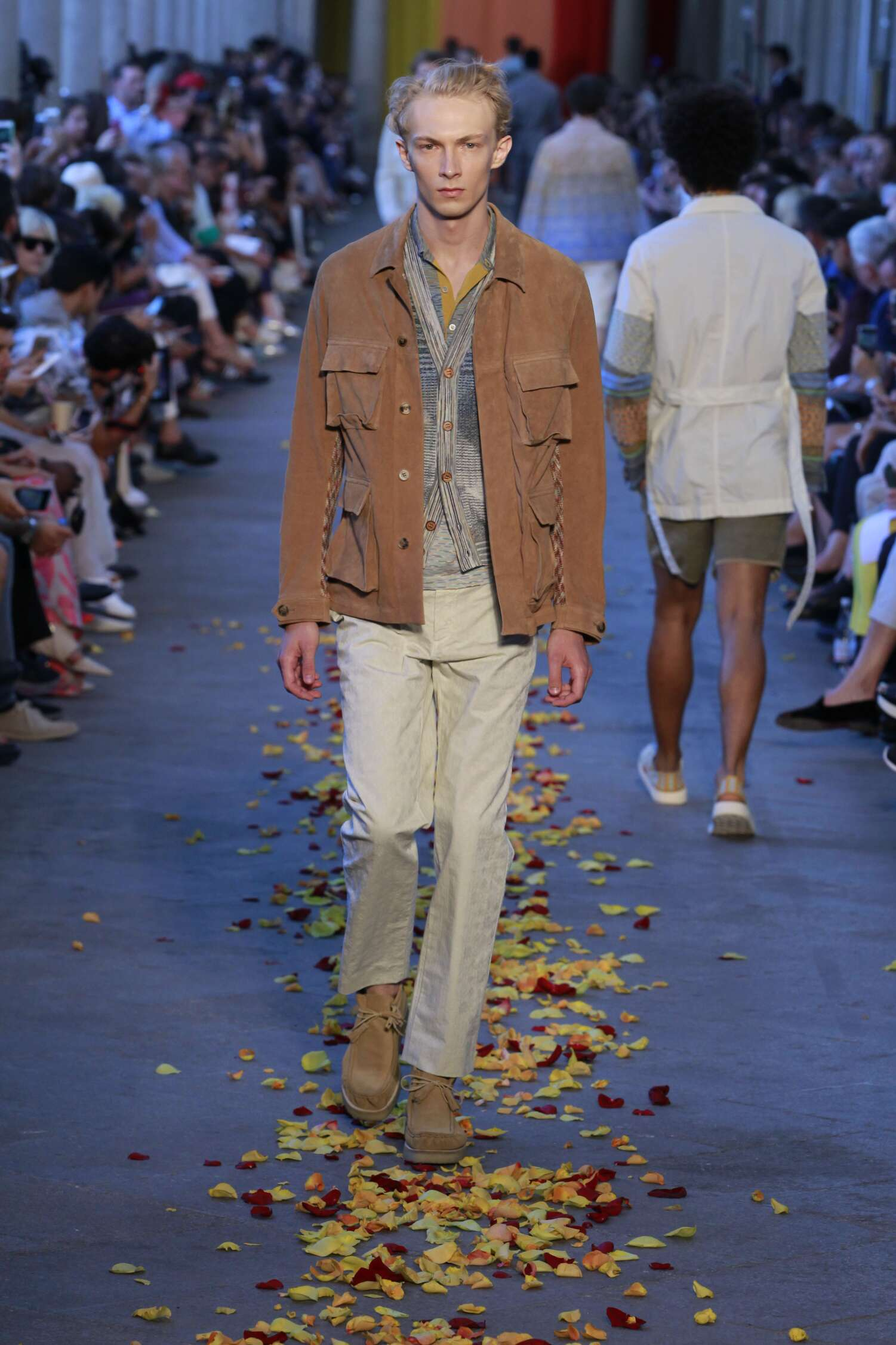 Spring 2016 Men Fashion Show Missoni Collection