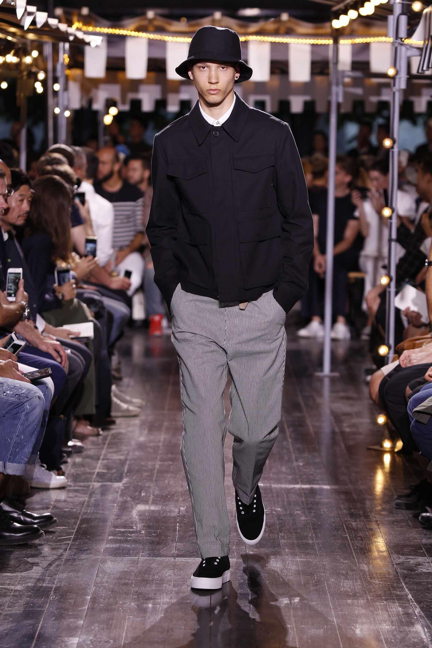 Spring Ami Collection Fashion Men Model
