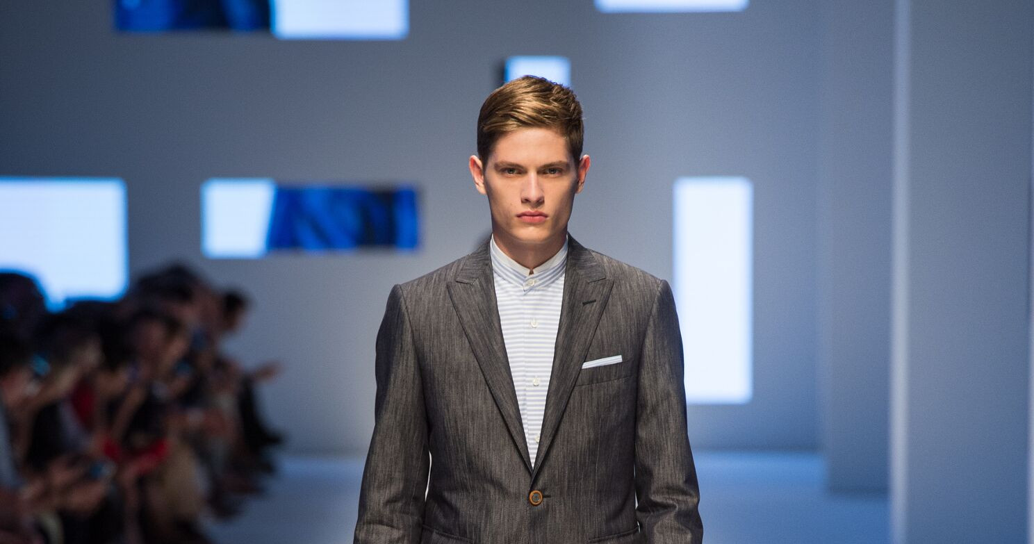 Spring Fashion Man Canali Collection 2016