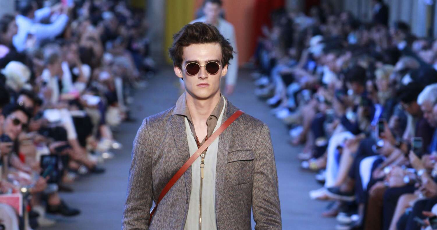 Spring Fashion Man Missoni Collection 2016
