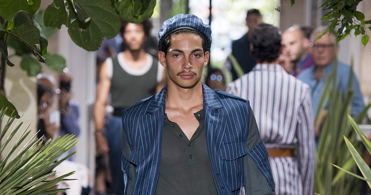 Spring Fashion Man Umit Benan Collection 2016